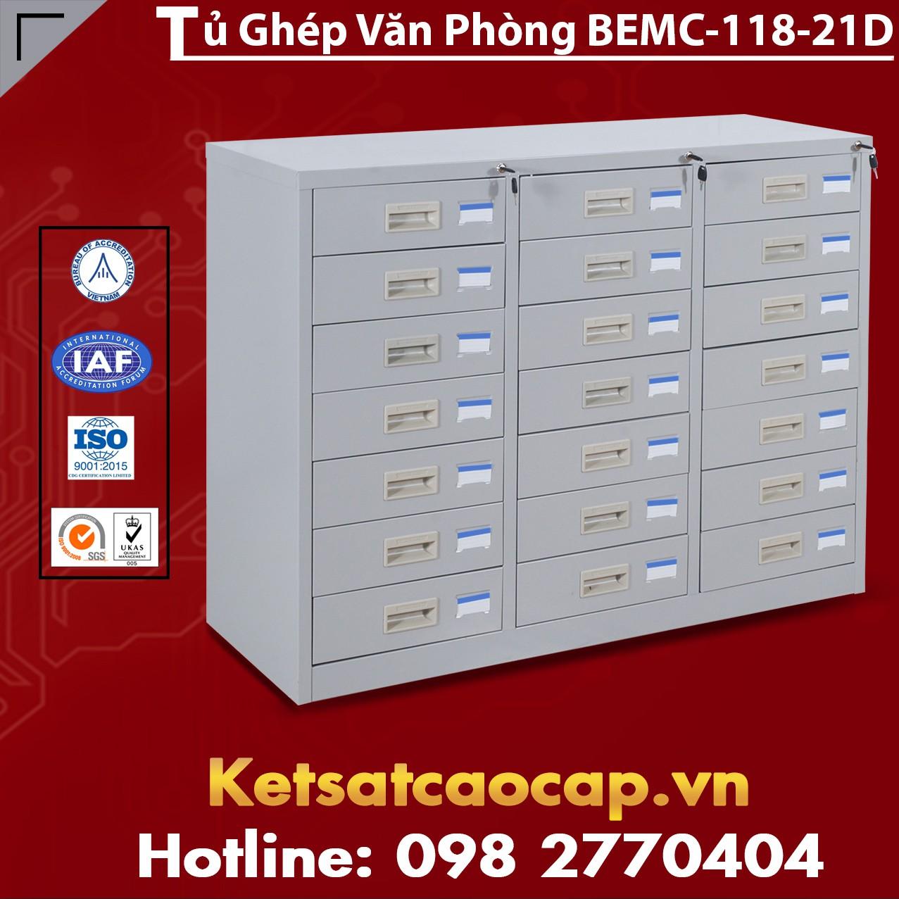Tủ Ghép Văn Phòng BEMC-118-21D
