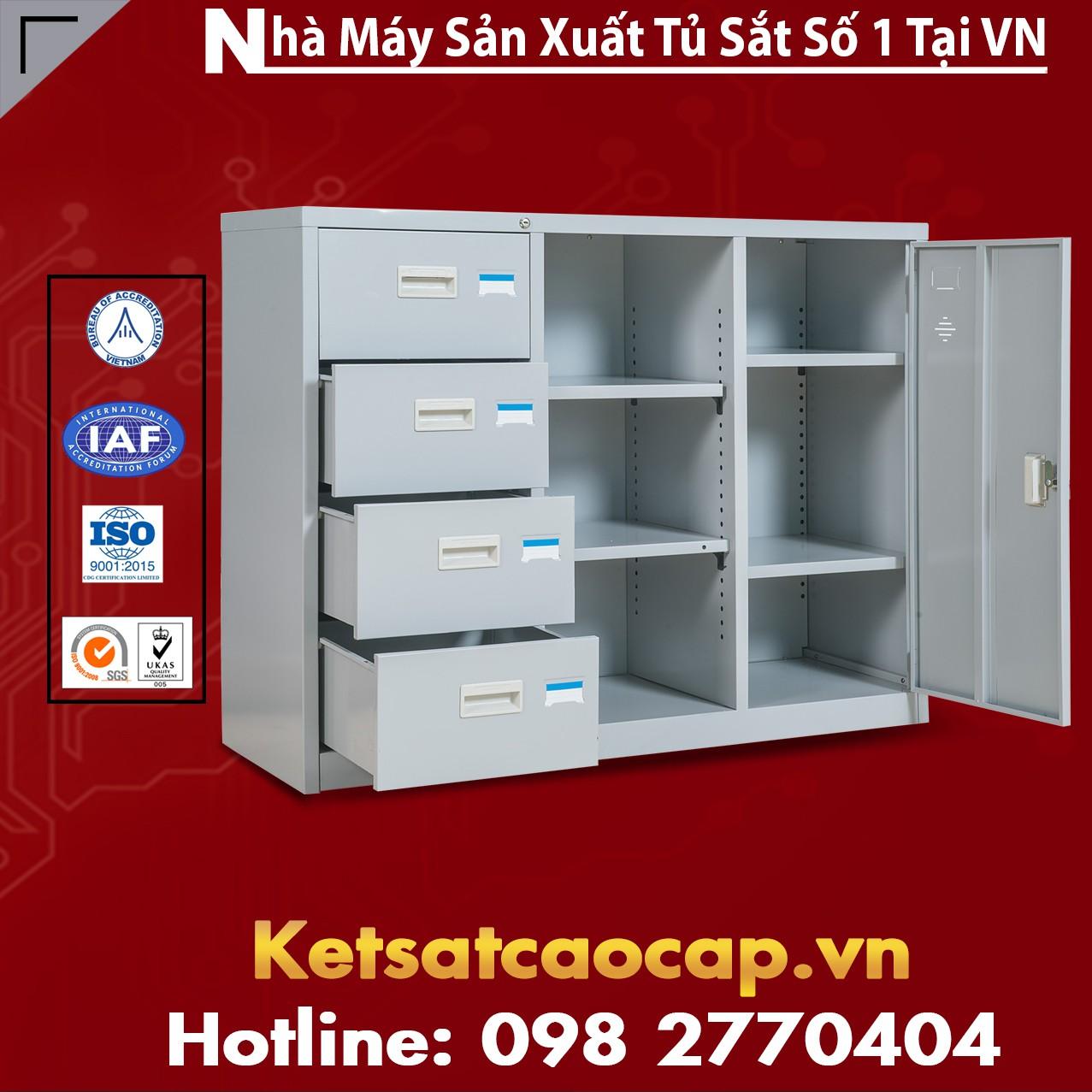 Tủ hồ sơ văn phòng BEMC-118-4D