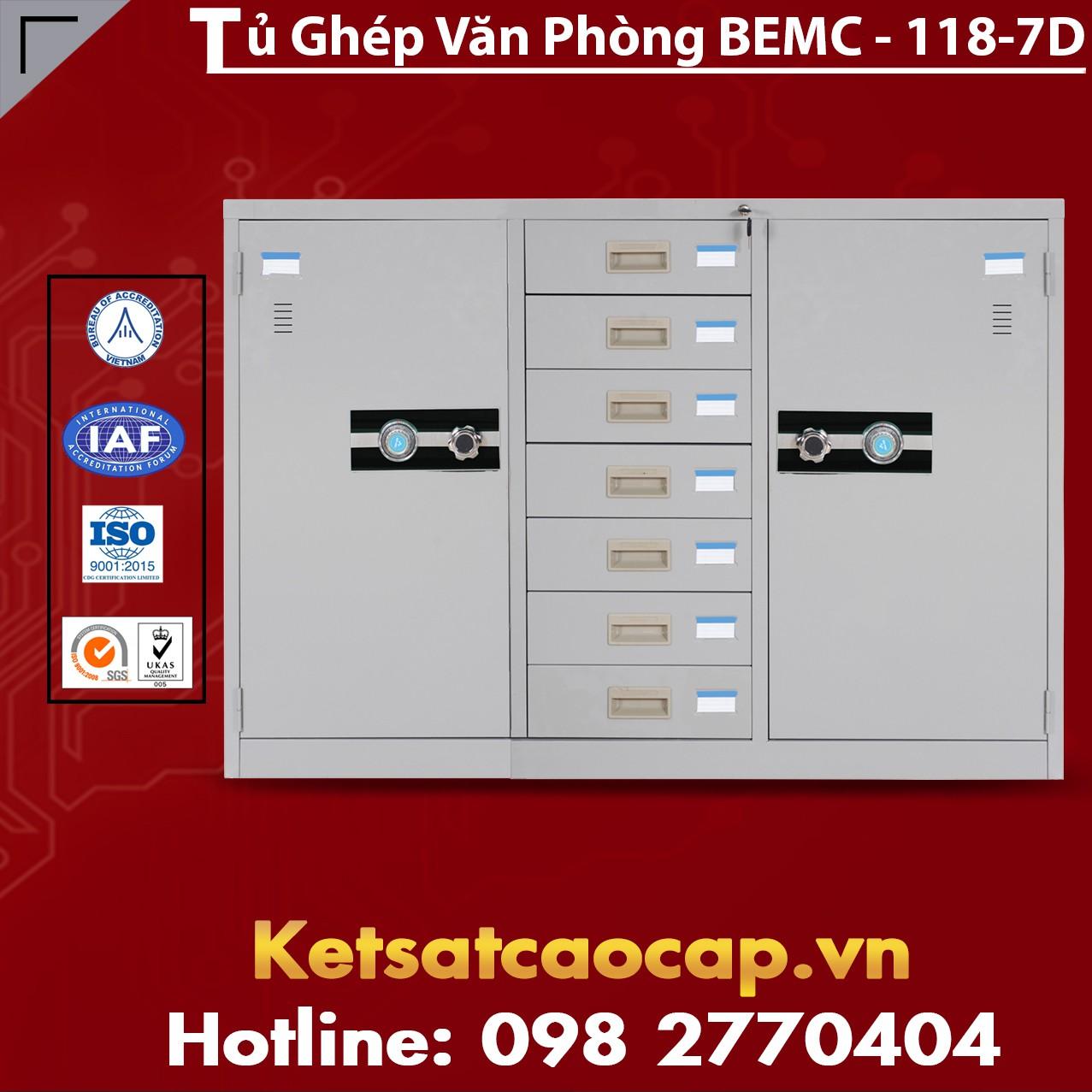 Tủ Ghép Văn Phòng BEMC-118-7D