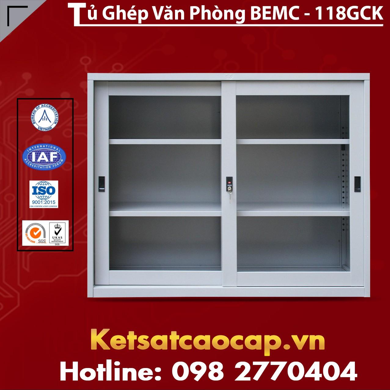 Tủ Ghép Văn Phòng BEMC-118GCK
