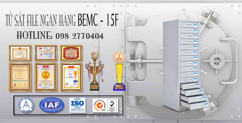 Tủ Sắt Để FILE Tài Liệu BEMC - 15F