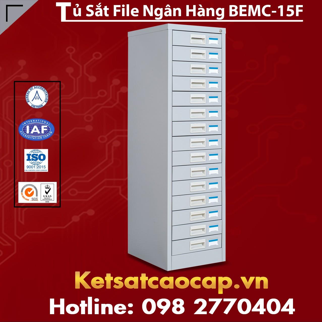 Tủ Sắt File Ngân Hàng BEMC - 15F
