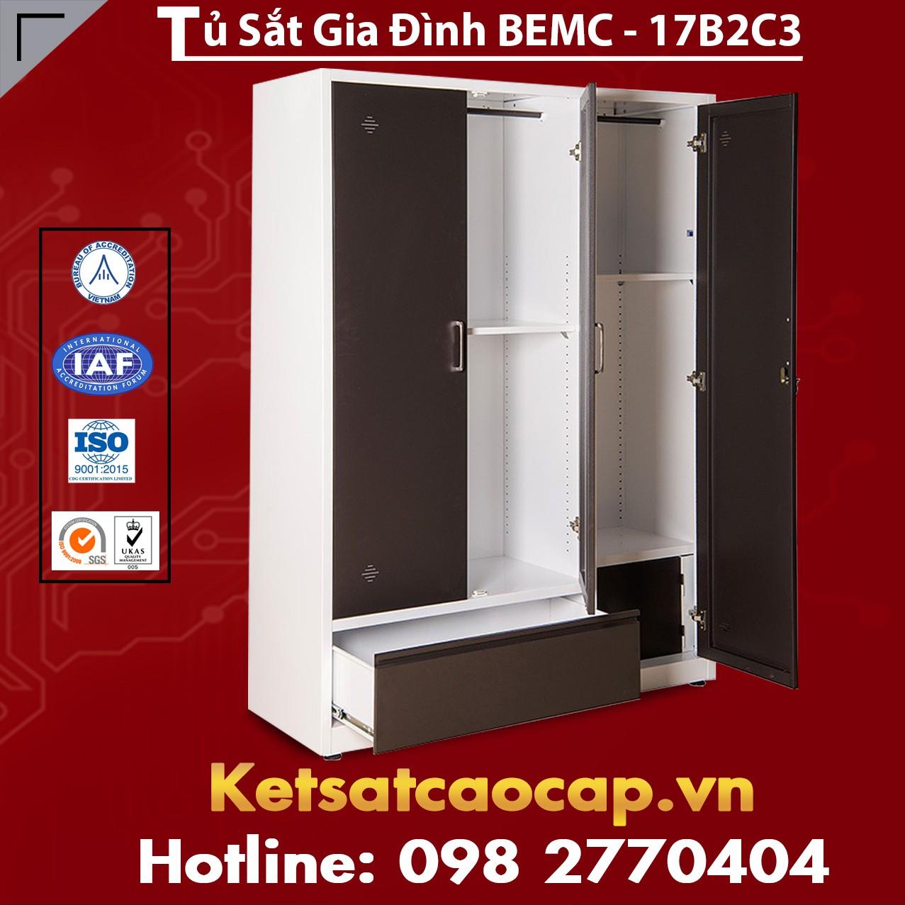 Tủ Sắt Gia Đình BEMC-17B2C3