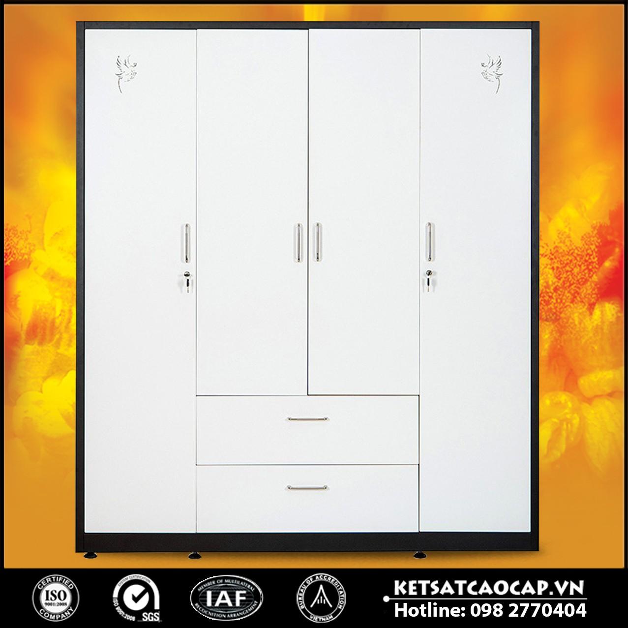 Tủ quần áo bằng thép BEMC-20B3C4