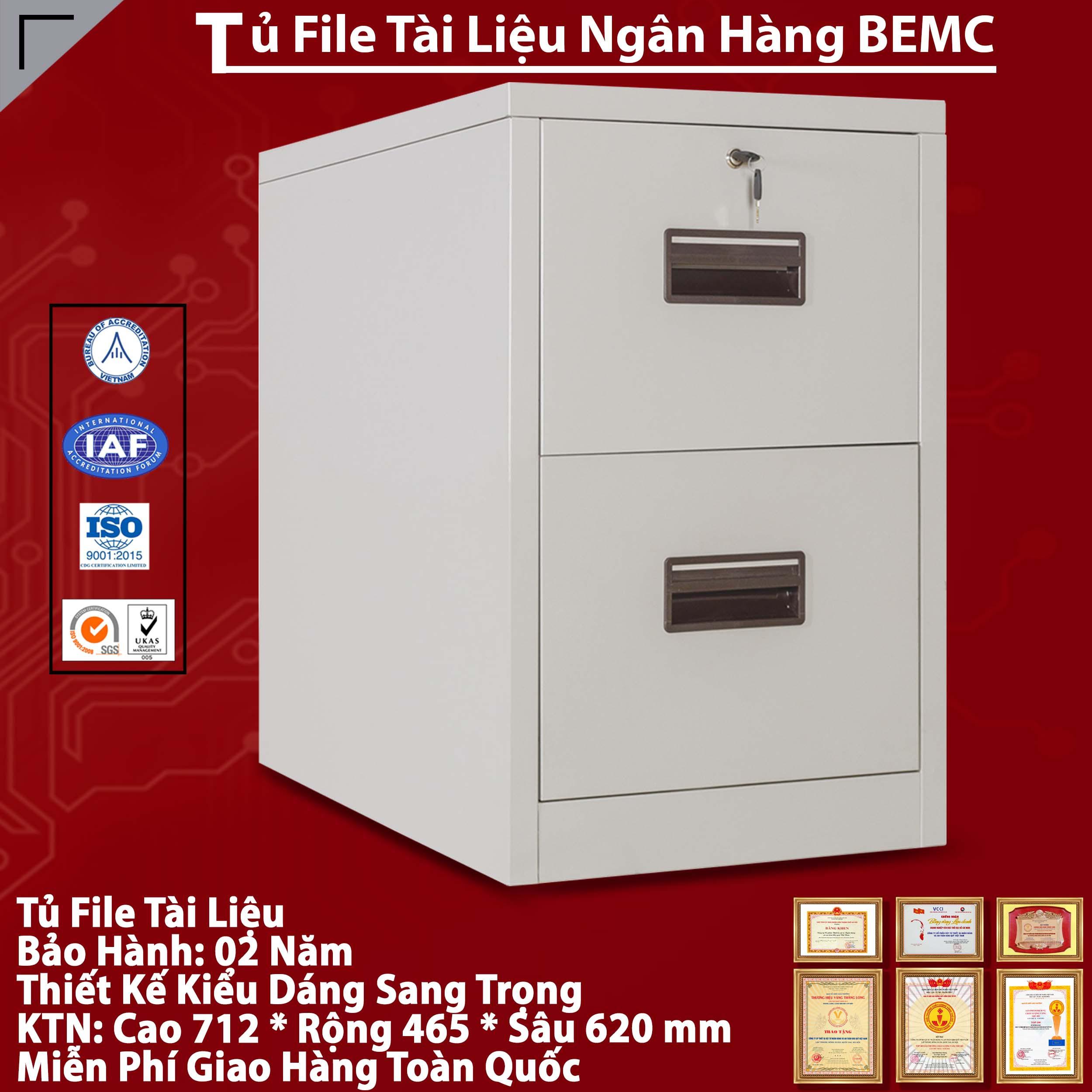 Tủ Sắt Để FILE Tài Liệu BEMC-2F
