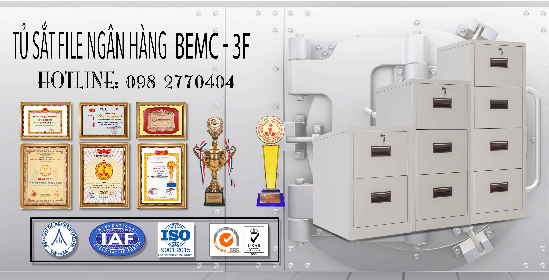 Tủ Sắt Để FILE Tài Liệu BEMC - 3F