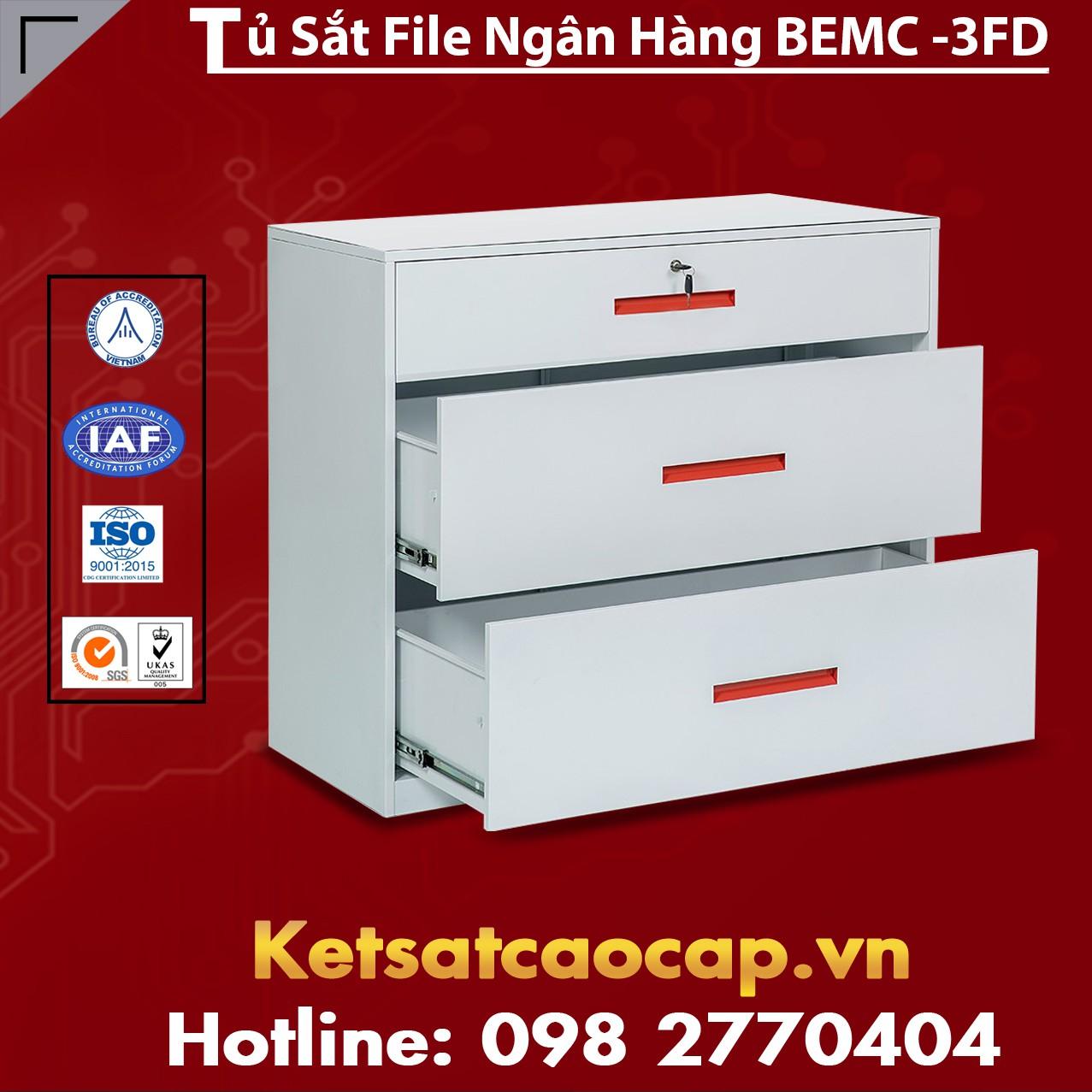 Tủ Sắt File Ngân Hàng BEMC-3FD