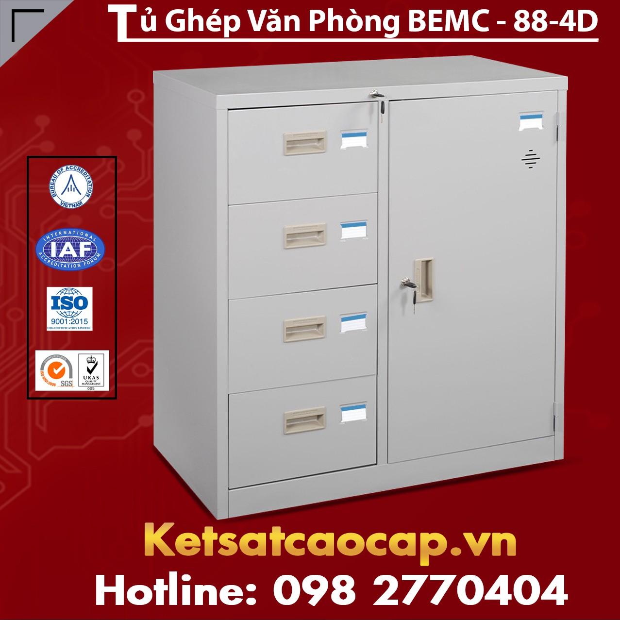Tủ Ghép Văn Phòng BEMC-88-4D