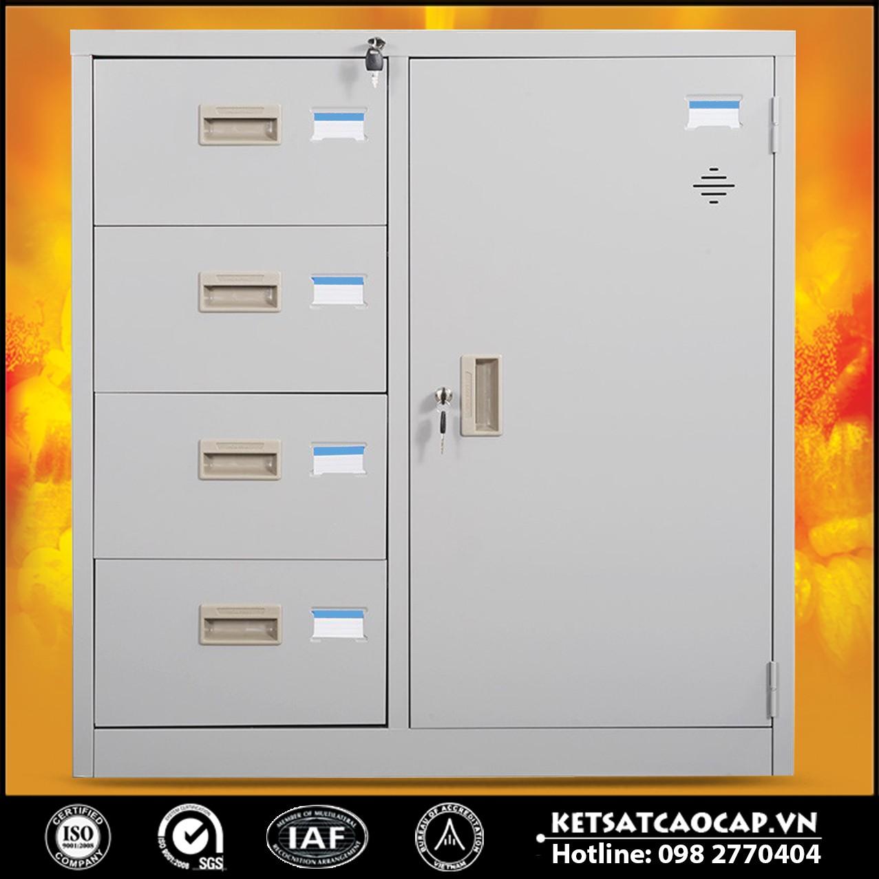 Tủ Sắt Hồ Sơ BEMC-88-4D