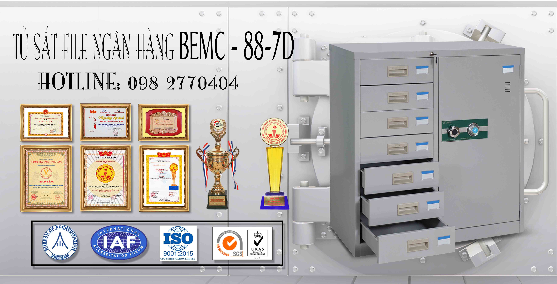 Tủ hồ sơ BEMC-88-7D