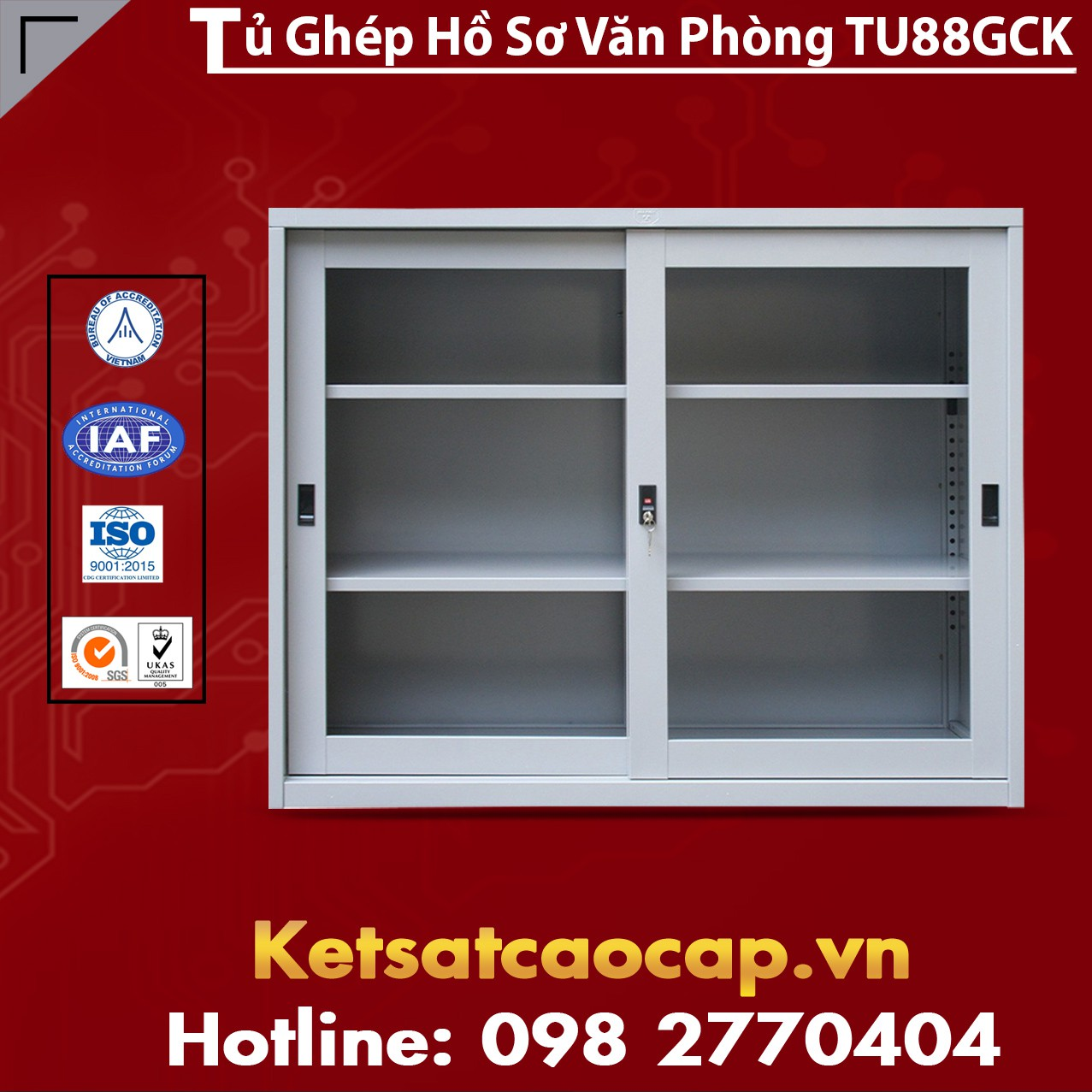 Tủ Ghép Hồ Sơ Văn Phòng TU88GCK