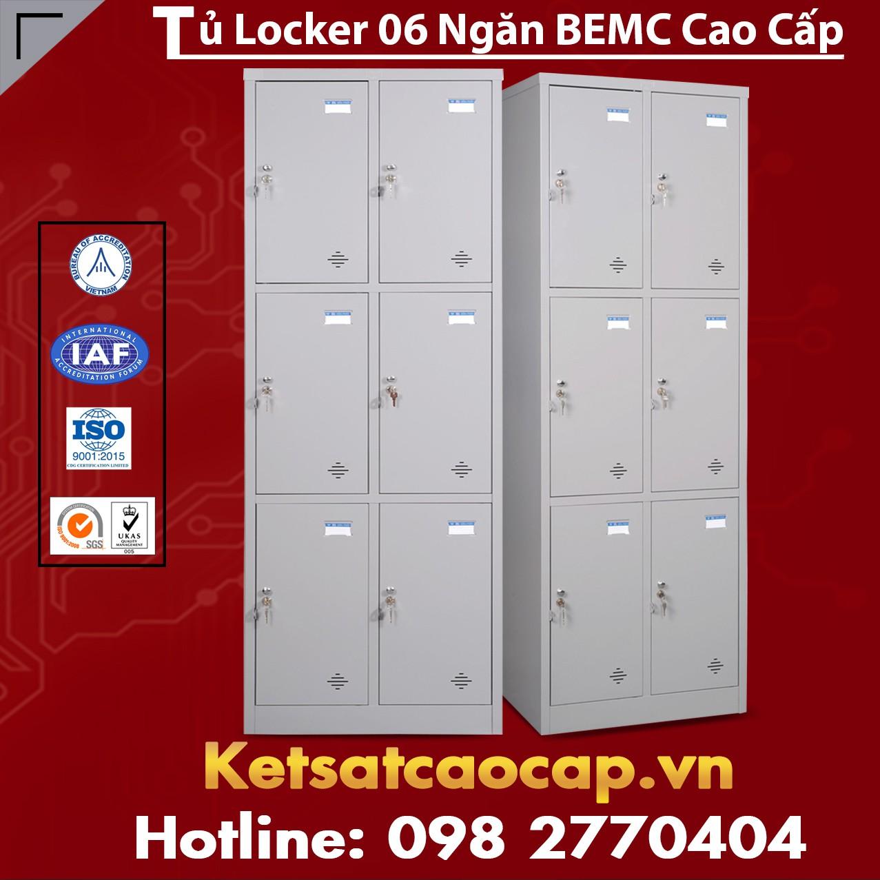 Tủ sắt BEMC 6 Ngăn