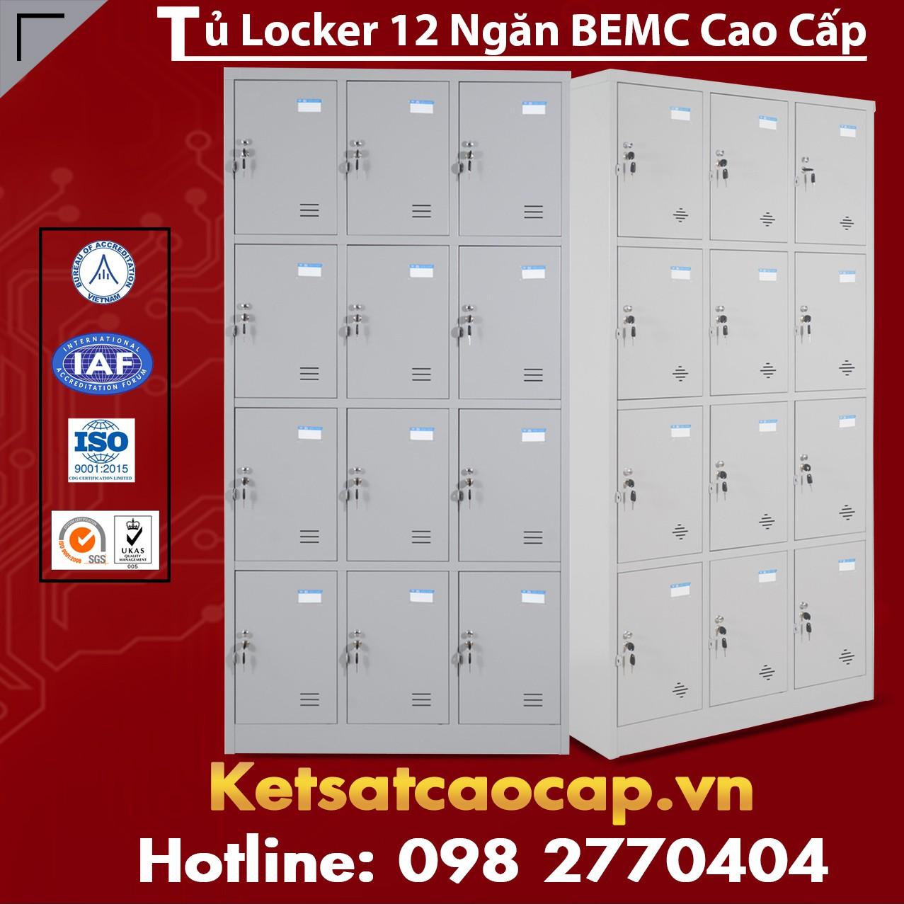 Tủ Locker BEMC 12 Ngăn