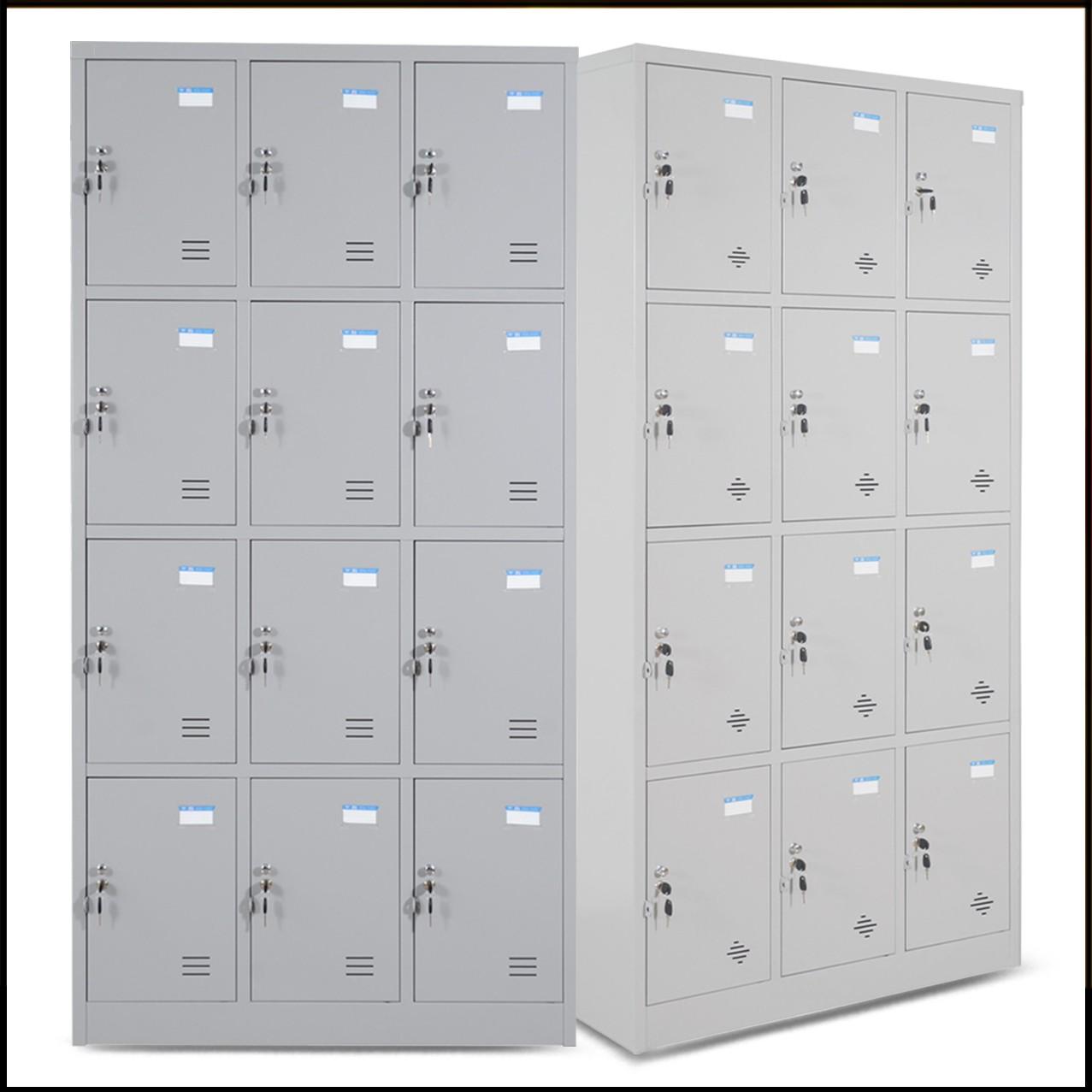 Tủ TU984-3K - Tủ locker, 3 buồng, 12 ngăn có khóa