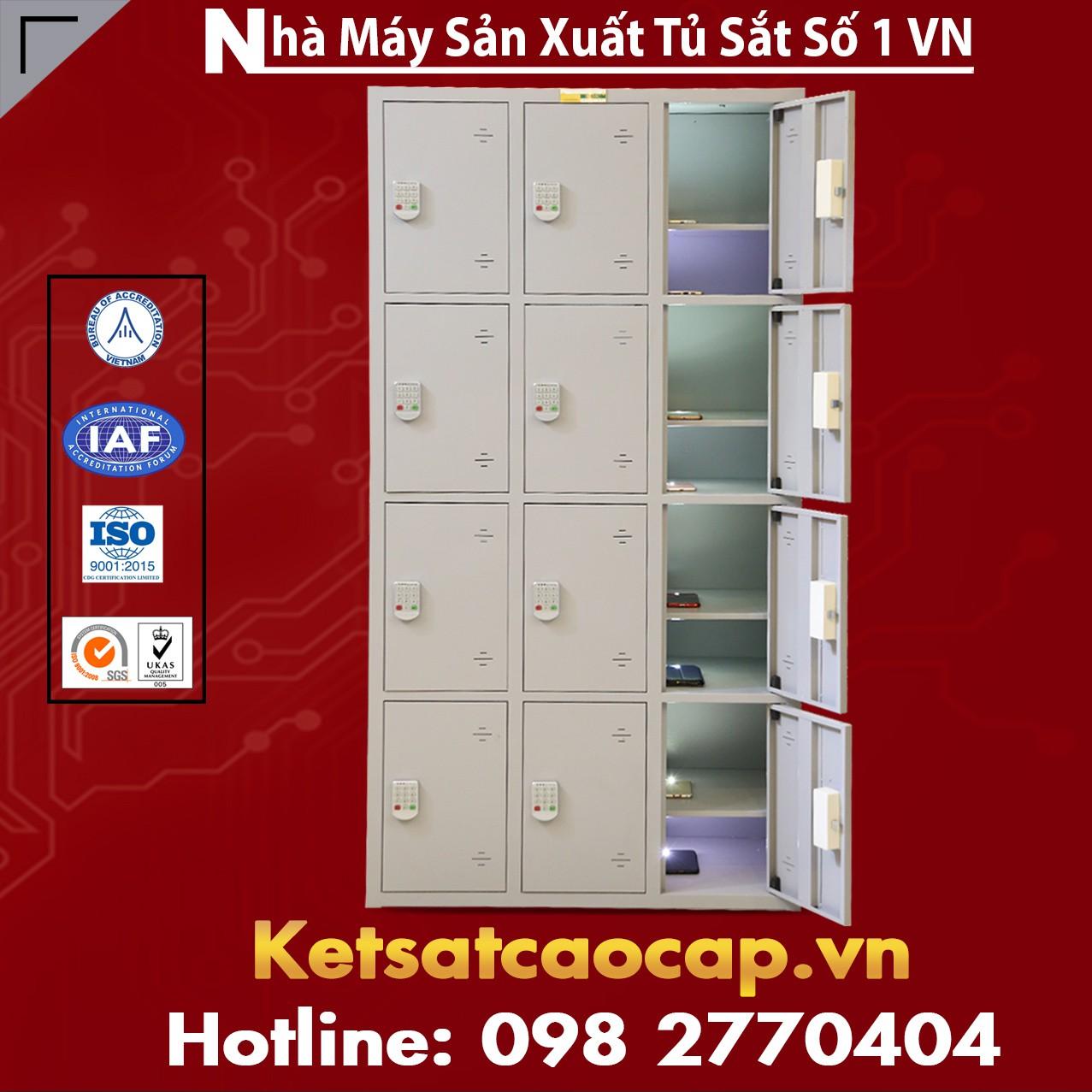 Bán Buôn Rẻ Hơn 30% - Tủ Locker Sơn Tĩnh Điện