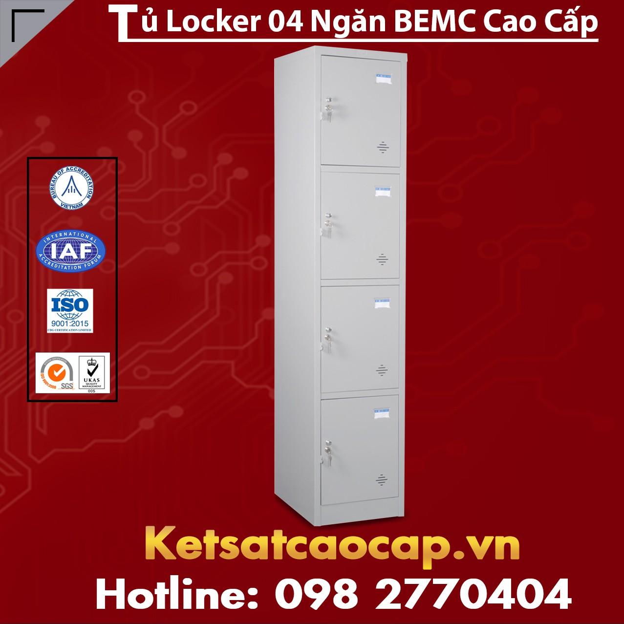 Tủ Locker BEMC 4 Ngăn
