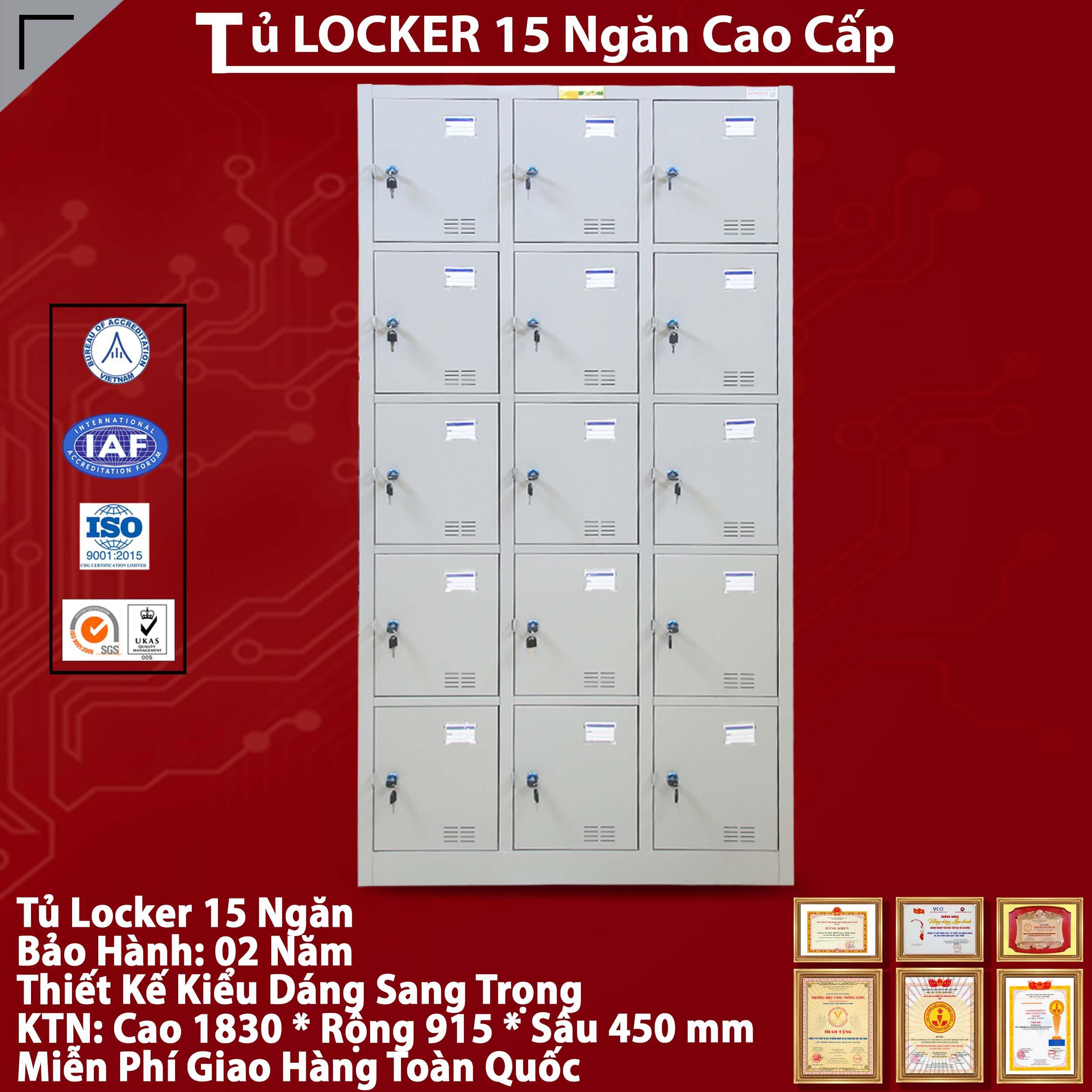Tủ Locker Giá Rẻ
