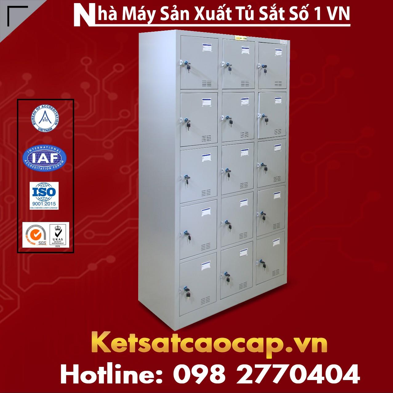 TU985-3K Tủ sắt locker để đồ trong siêu thị