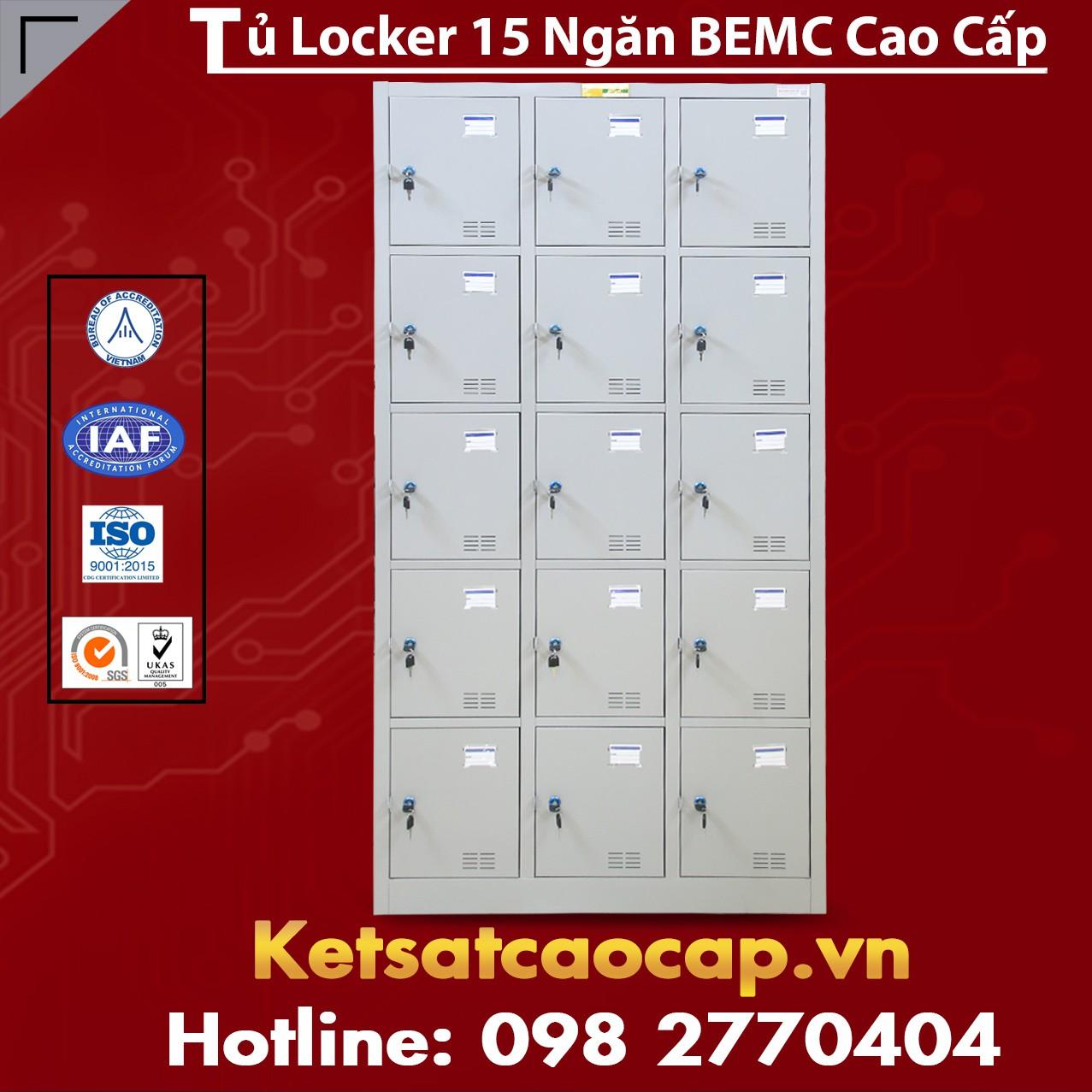 Tủ Locker BEMC 15 Ngăn