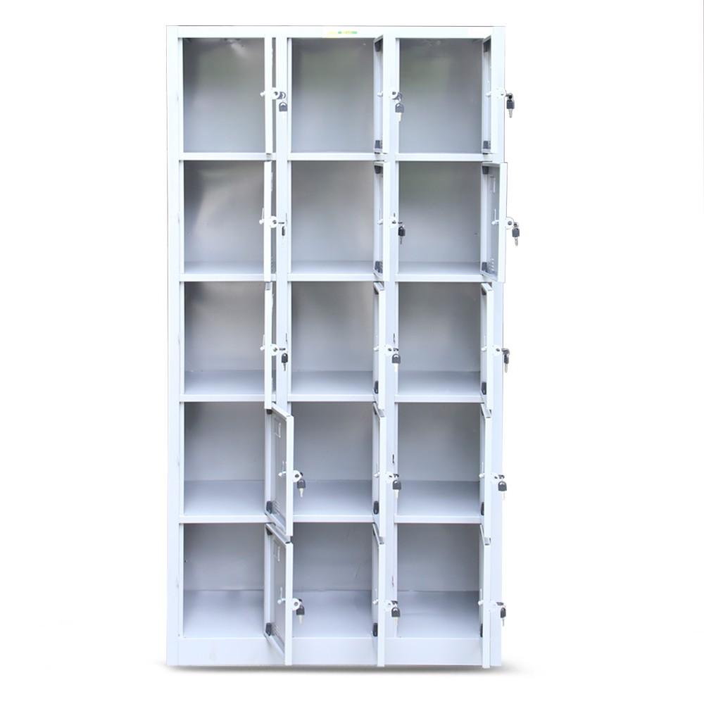 Tủ tài liệu locker 18 ngăn cao cấp mã TU986-3K