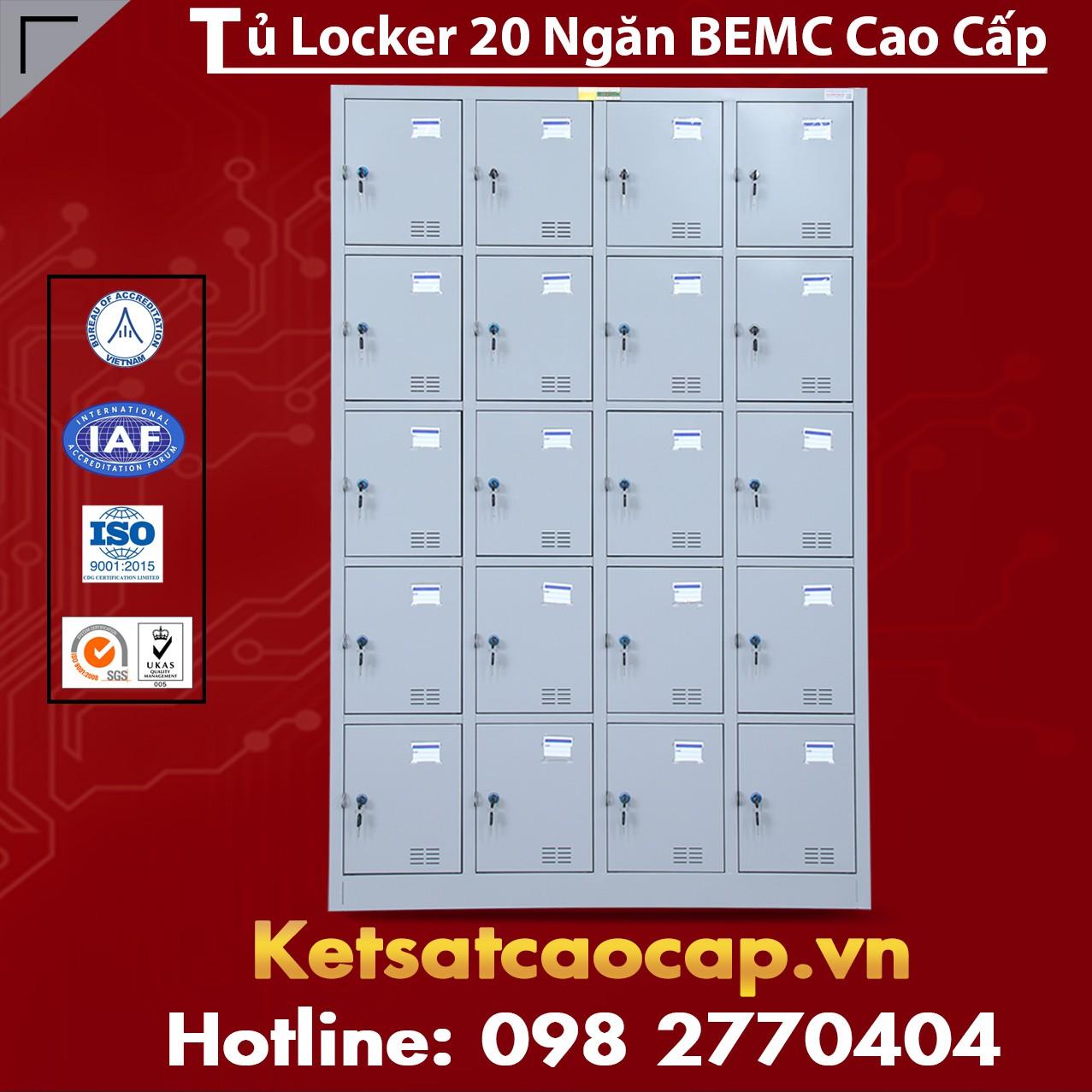 Tủ Locker BEMC 20 Ngăn