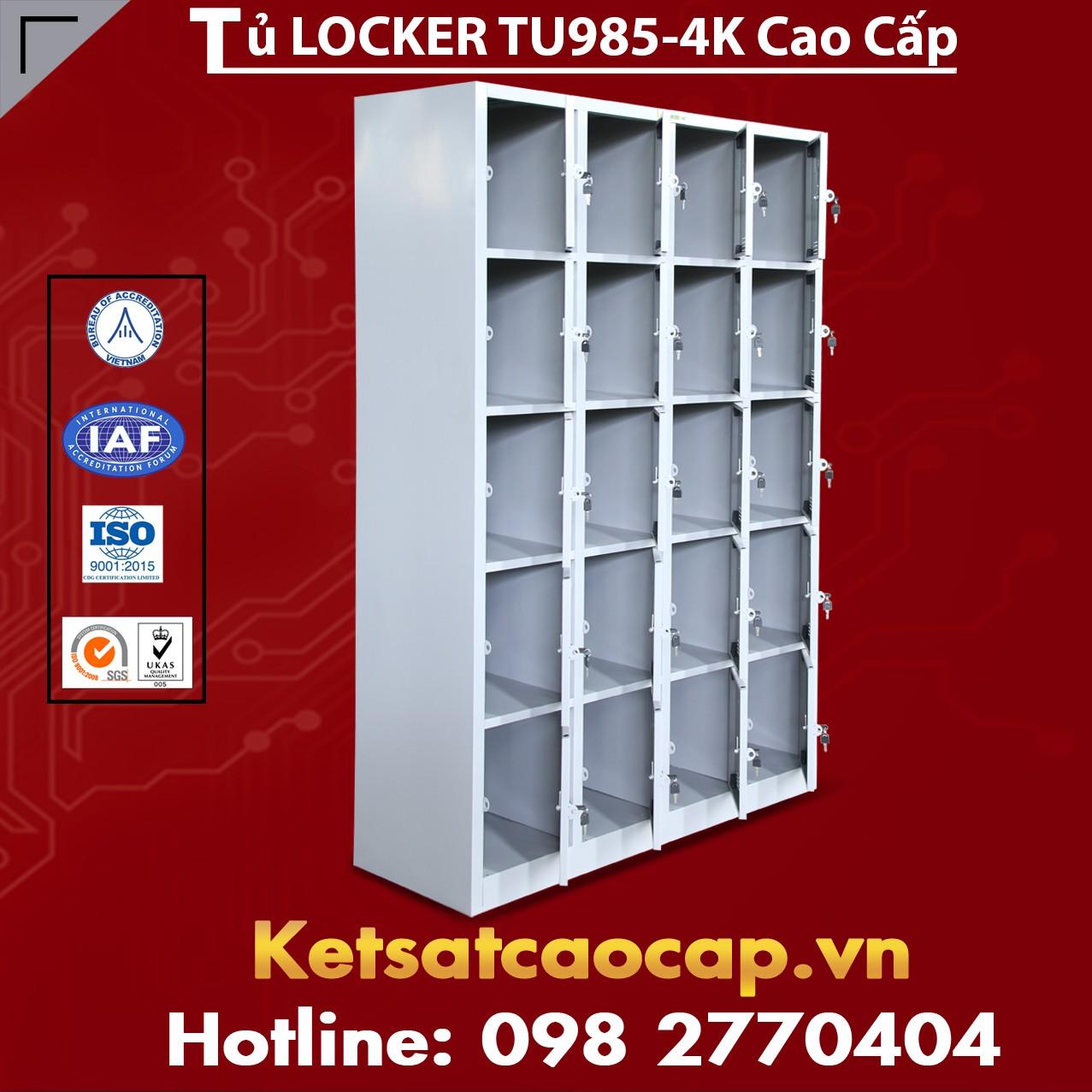 Tủ Locker TU985-4K Cao Cấp