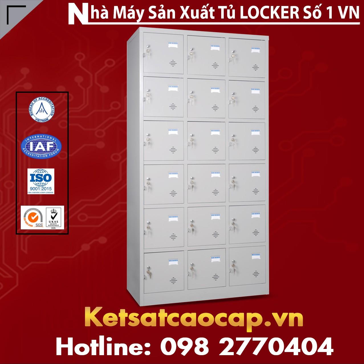 TU986-3K Tủ sắt locker để đồ trong siêu thị