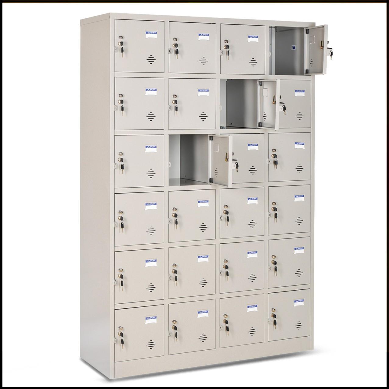 Tủ locker 24 ngăn cánh kiểu TU986-4K