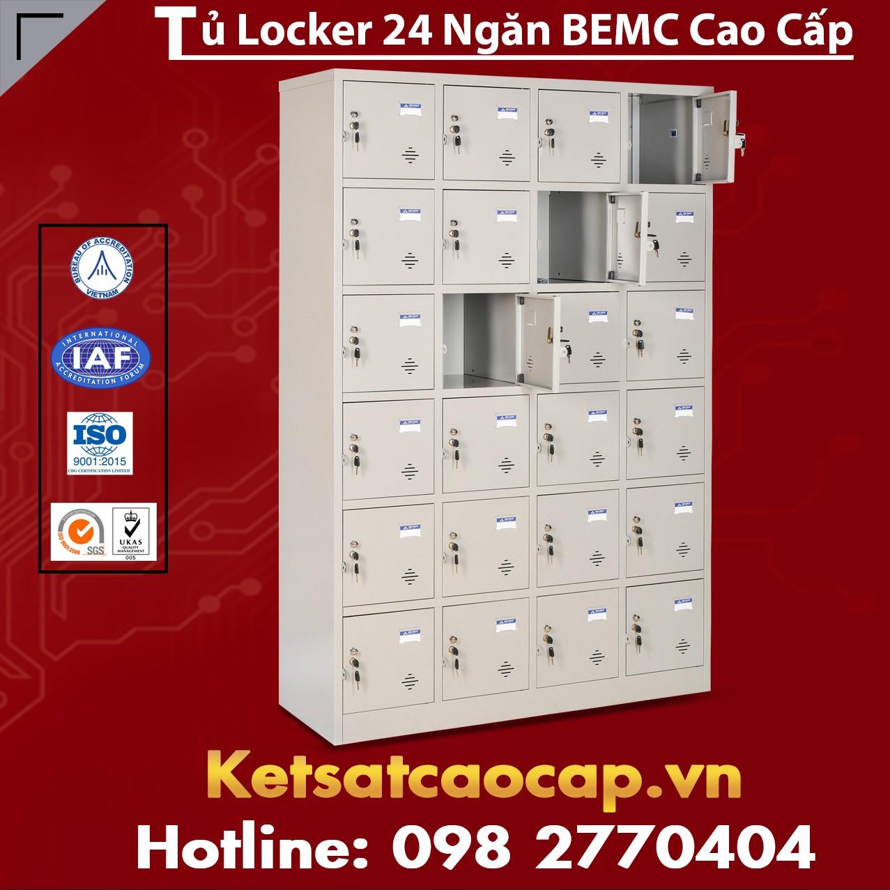 Tủ Locker BEMC 24 Ngăn