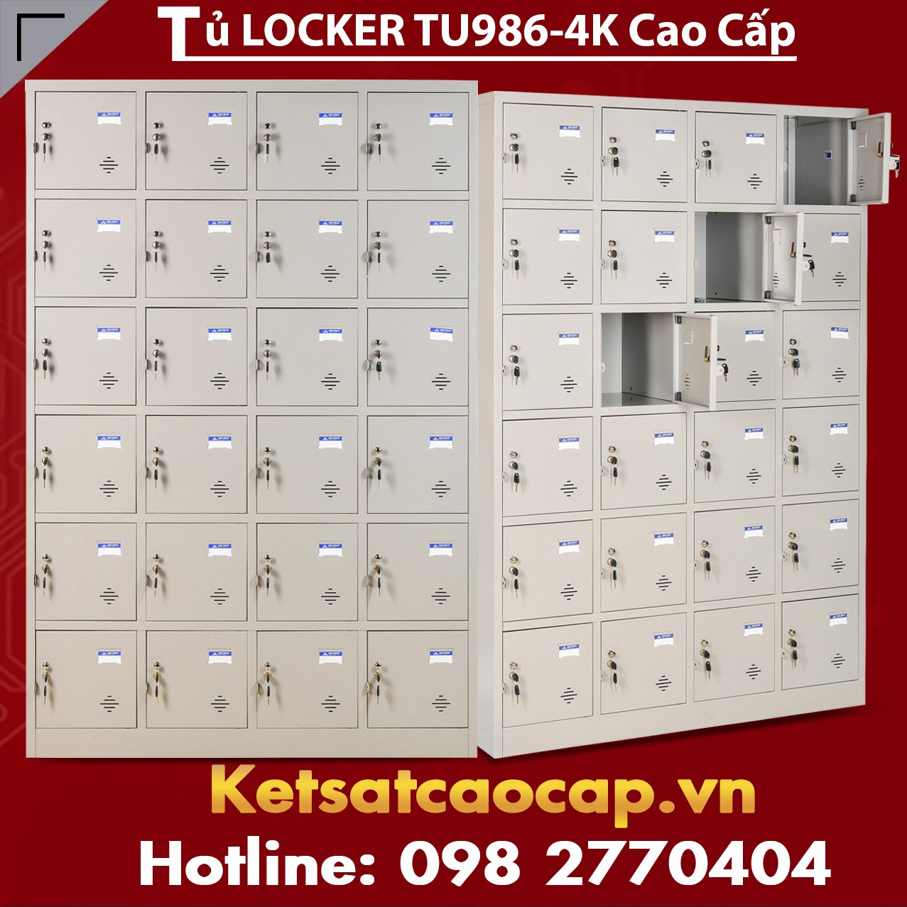 Tủ Locker TU986-4K