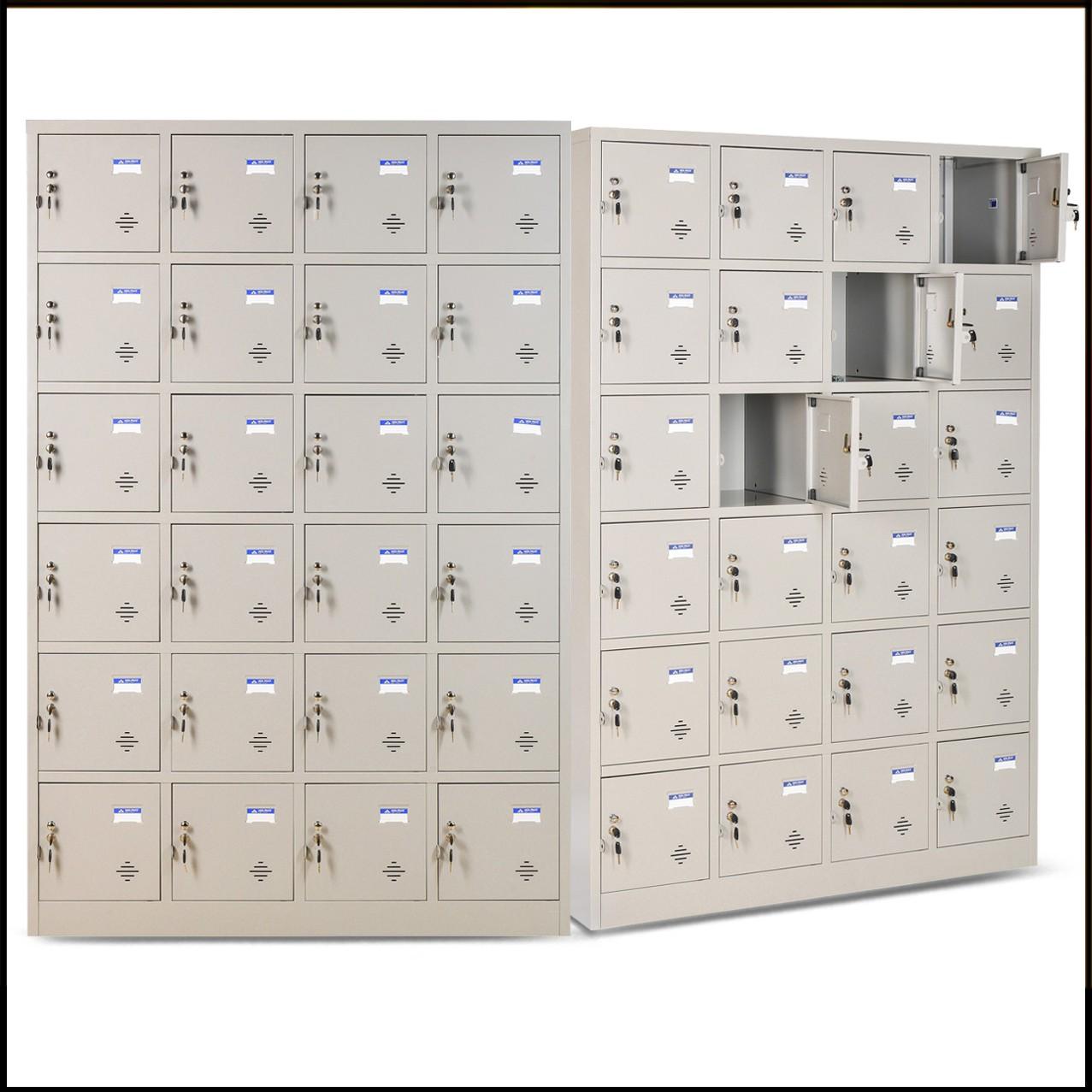 Tủ tài liệu locker 24 ngăn cao cấp mã TU986-4K