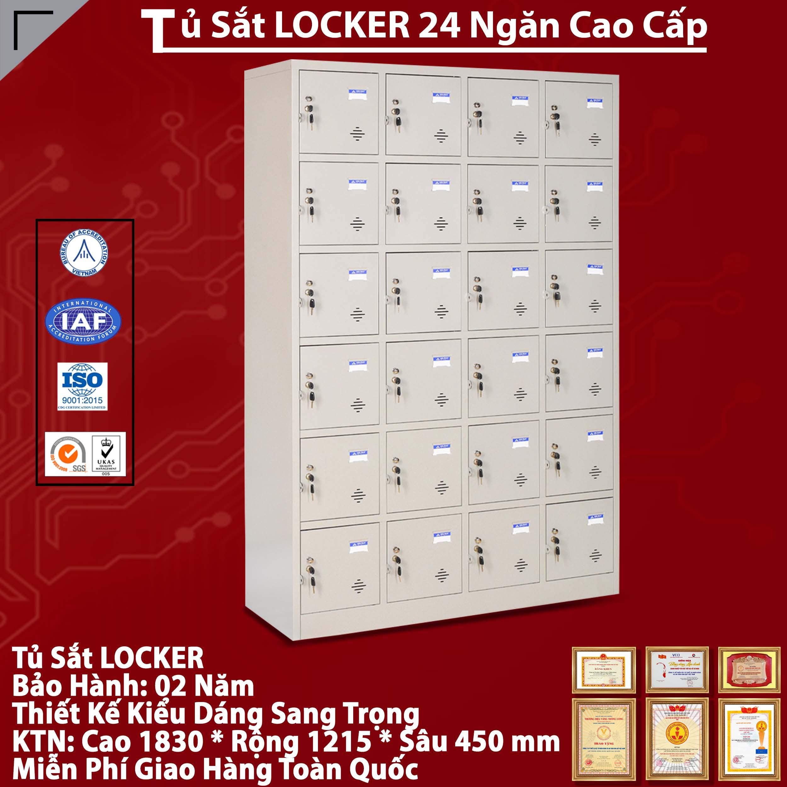 Nơi bán Tủ sắt locker TU986-4K giá rẻ nhất