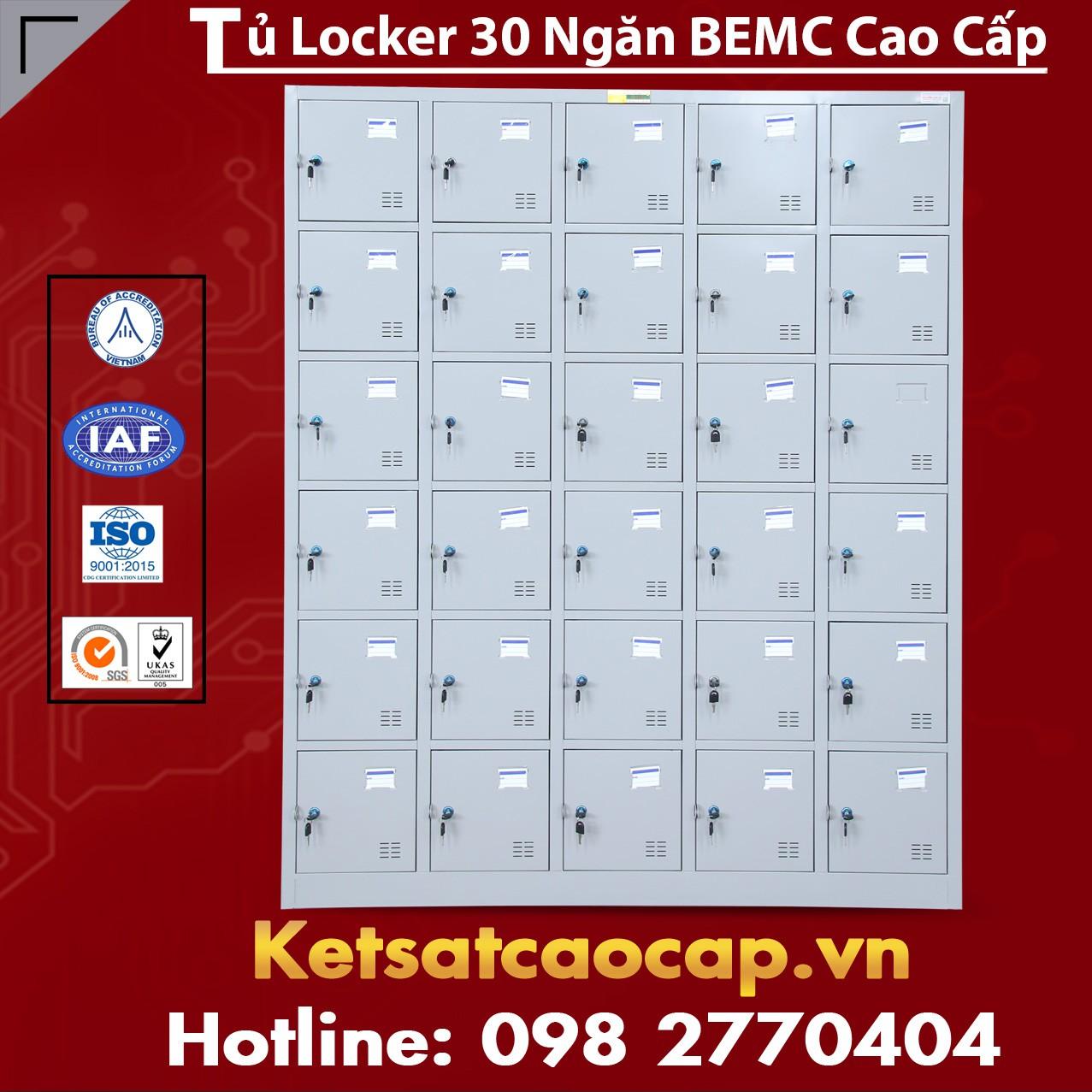 Tủ Locker BEMC 30 Ngăn