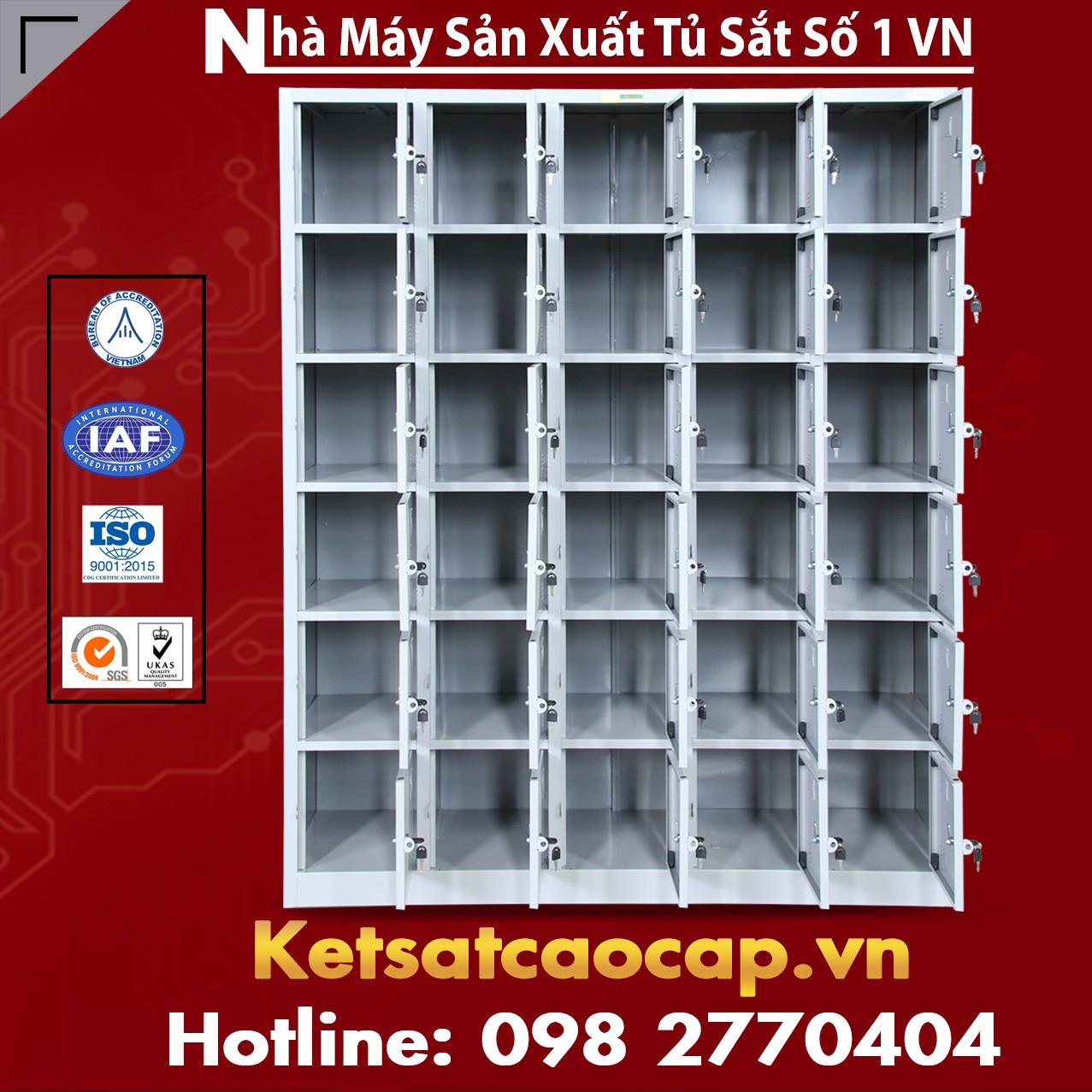 Tủ Locker TU986 - Tủ Locker 6 khoang