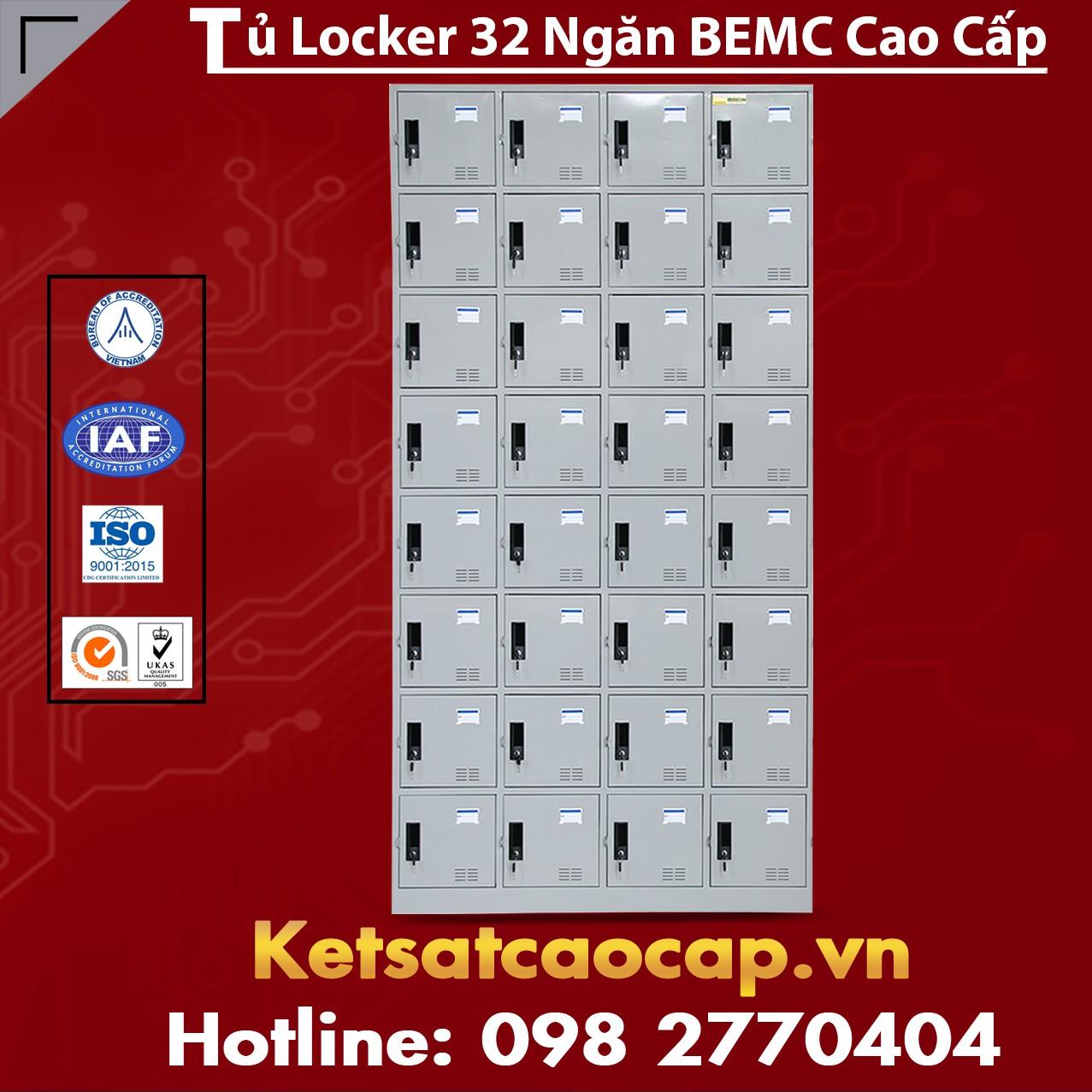 Tủ Locker BEMC 32 Ngăn