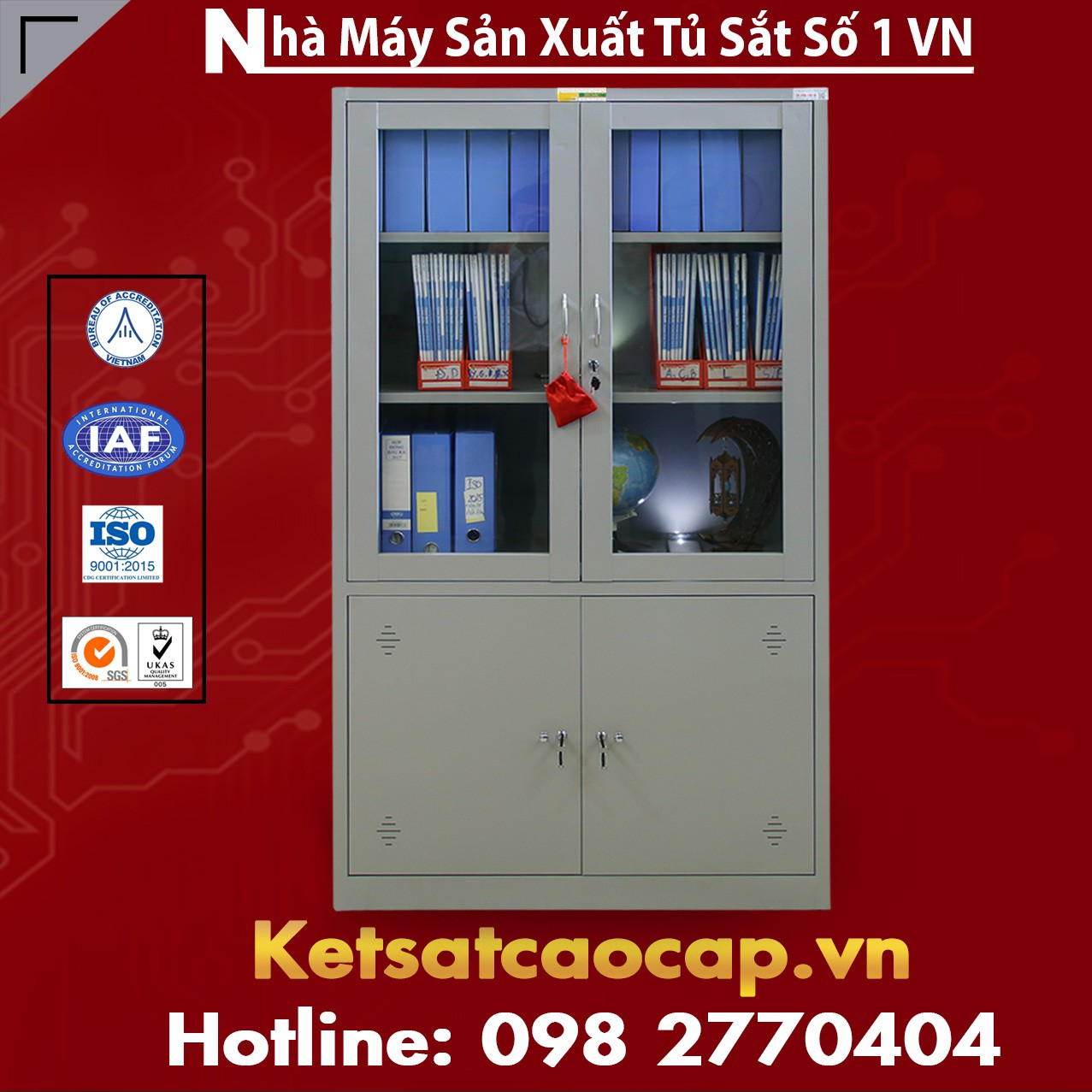 Tủ Hồ Sơ  Văn Phòng TU09K3CK
