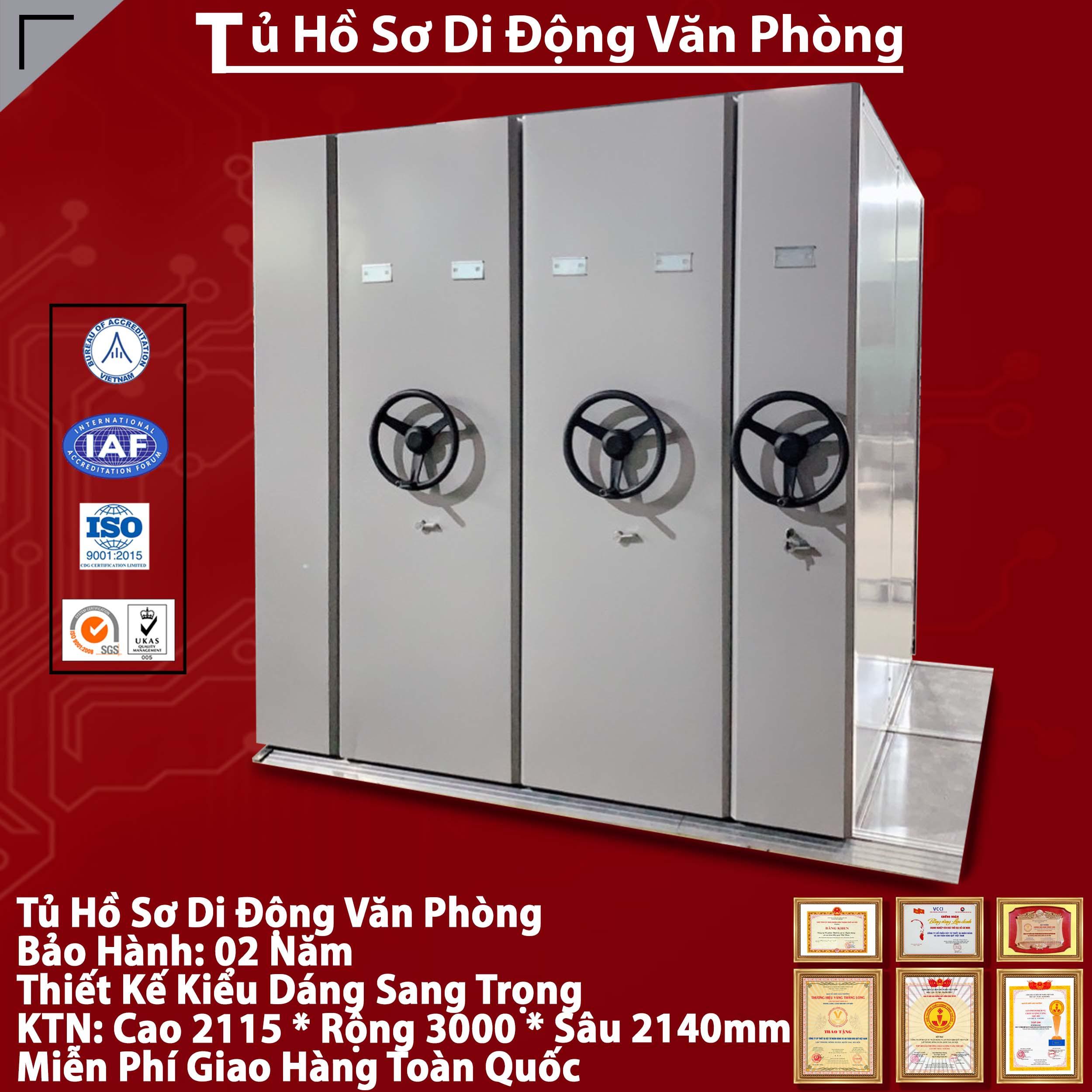 Hệ tủ di động Compactor MCF1