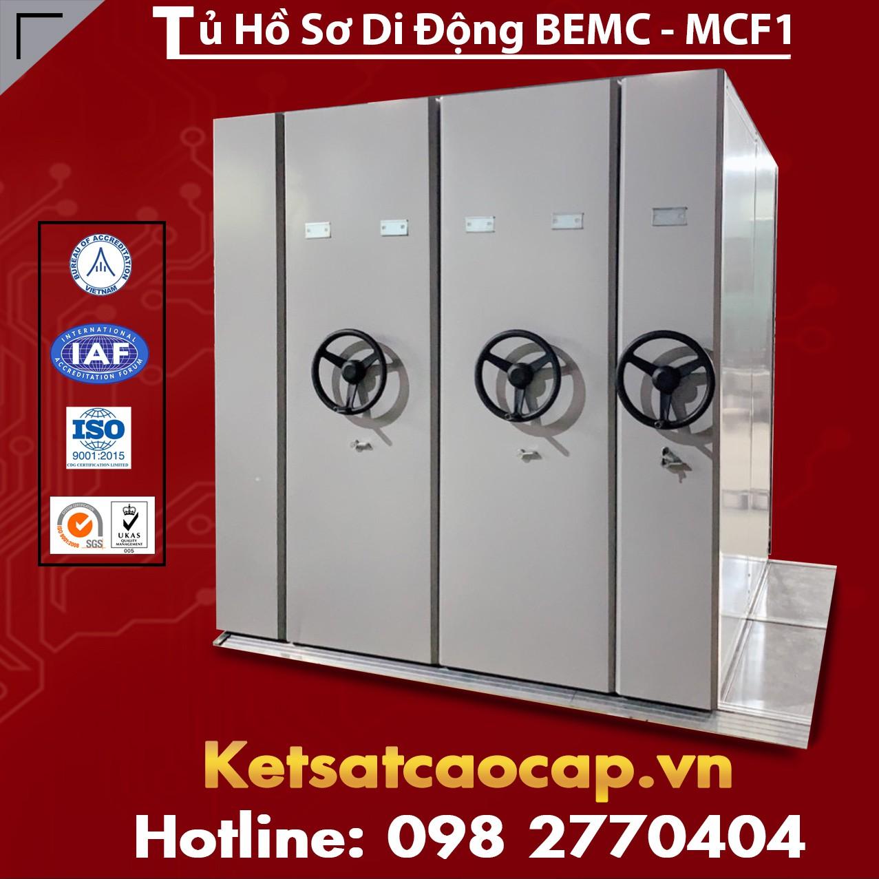 Tủ Thư Viện Di Động BEMC - MCF1