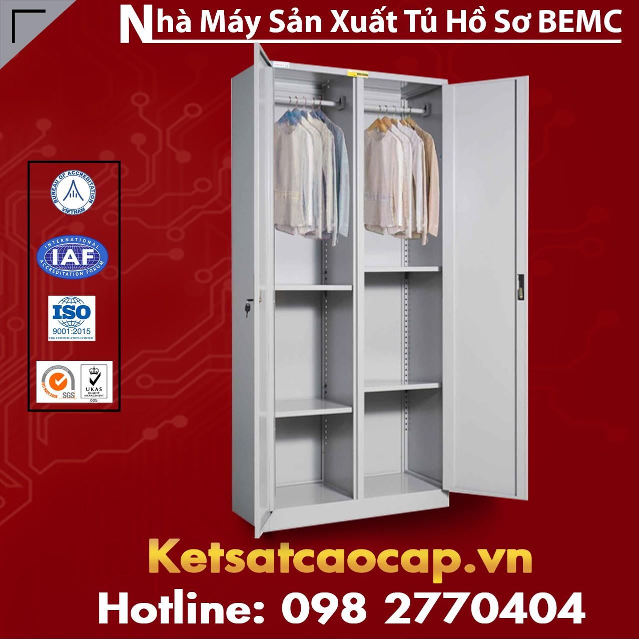 Tủ Sắt Treo Quần Áo BEMC K2