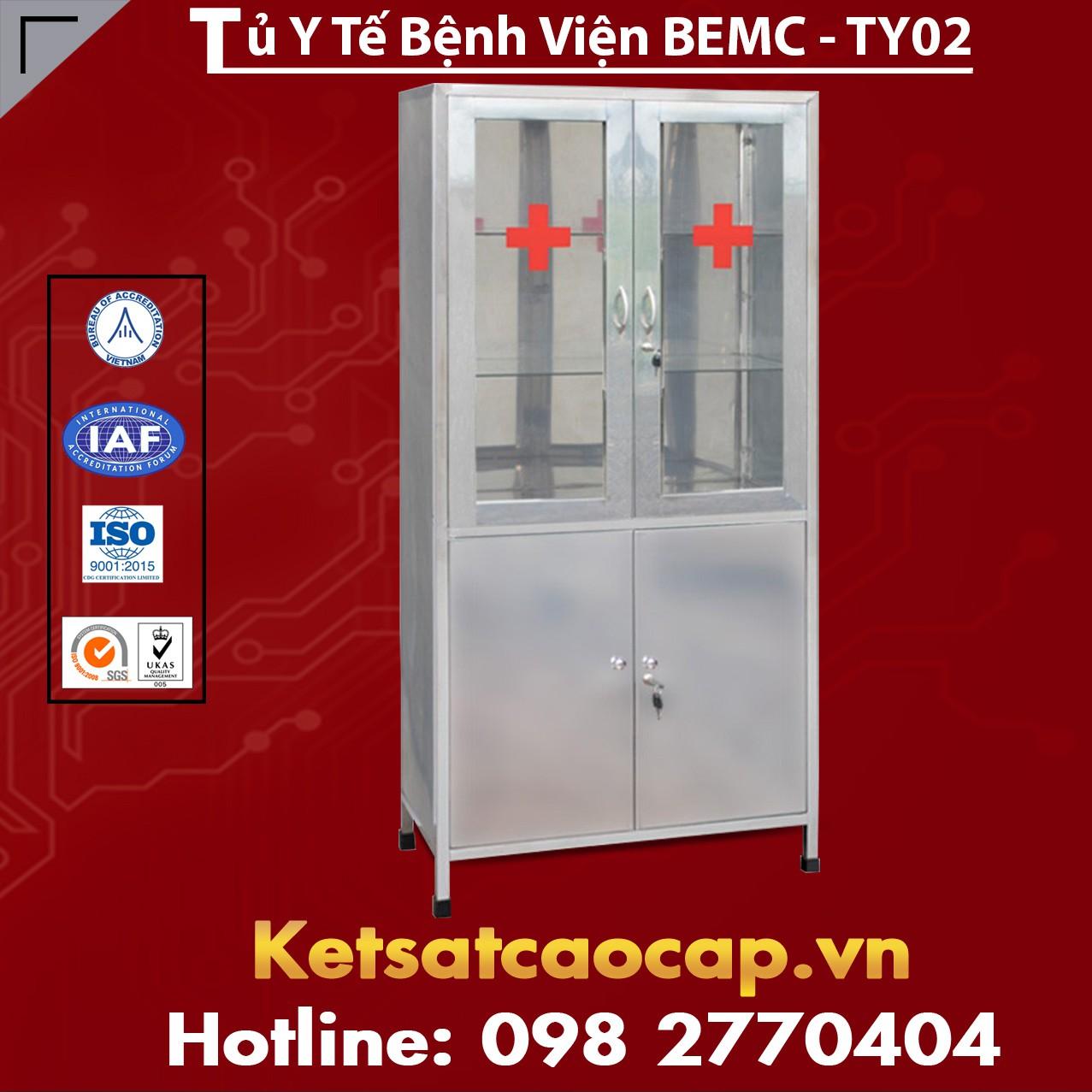 Tủ Y Tế Bệnh Viện BEMC - TYT02