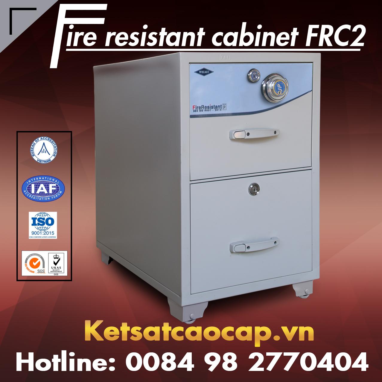 Tủ Hồ Sơ Chống Cháy FRC2 Cao cấp