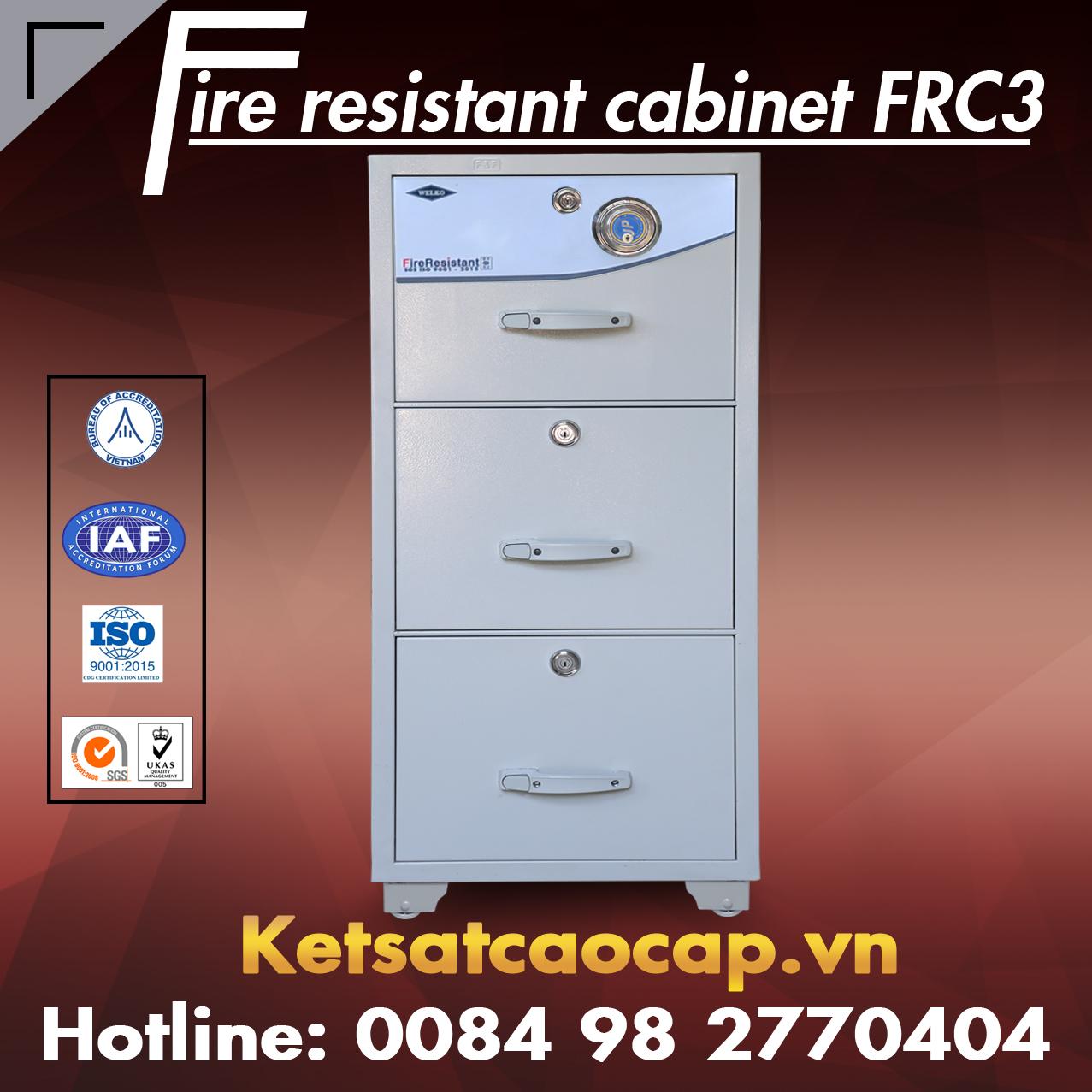 Tủ Hồ Sơ Chống Cháy FRC3