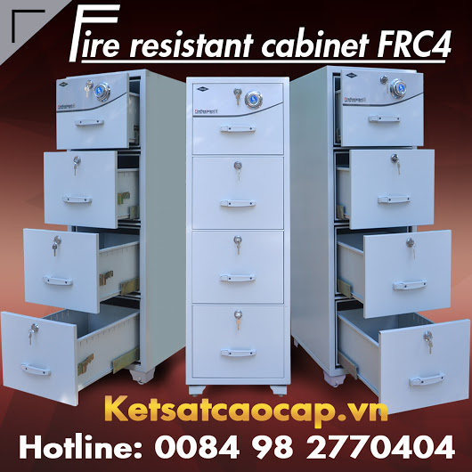 Dai ly ban tu dung ho so 2 ngan sat WELKO Safes Fire Resistant Cabinet chinh hang gia re