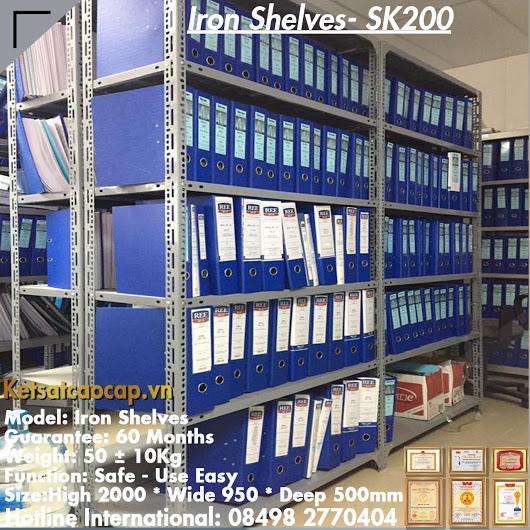 đặc điểm sản phẩm Kệ Sắt Đựng Hồ Sơ SK200