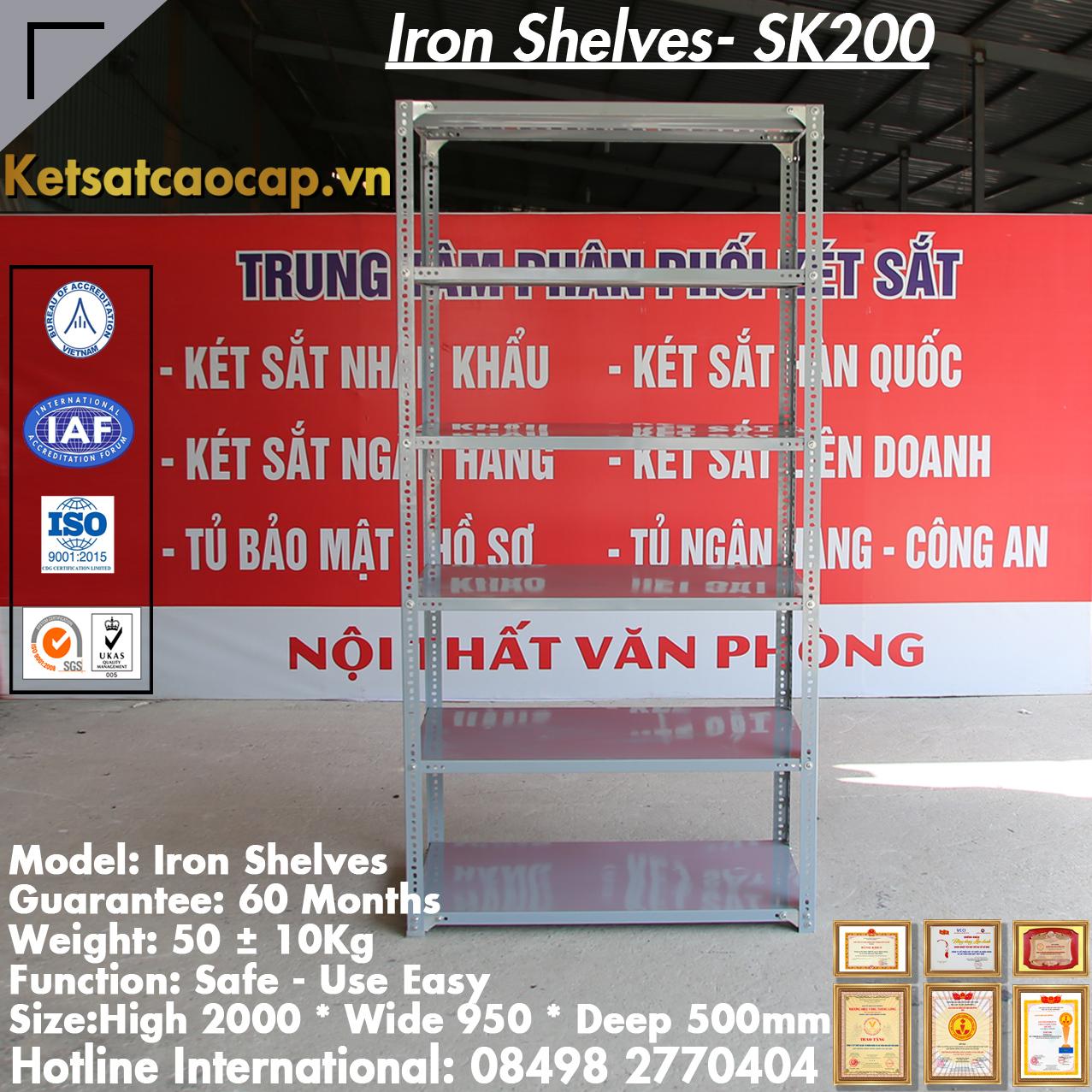 Kệ Sắt Đựng Hồ Sơ SK200