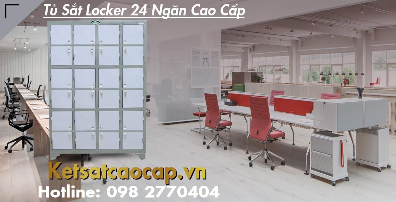hình ảnh sản phẩm Tủ Sắt Locker 24 Ngăn