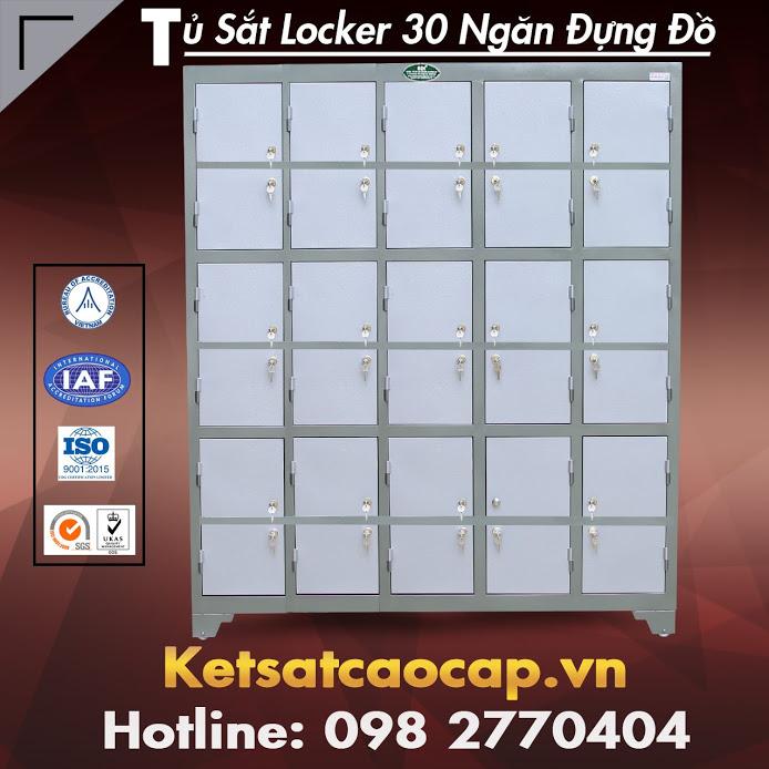 Tủ Sắt Locker 30 Ngăn