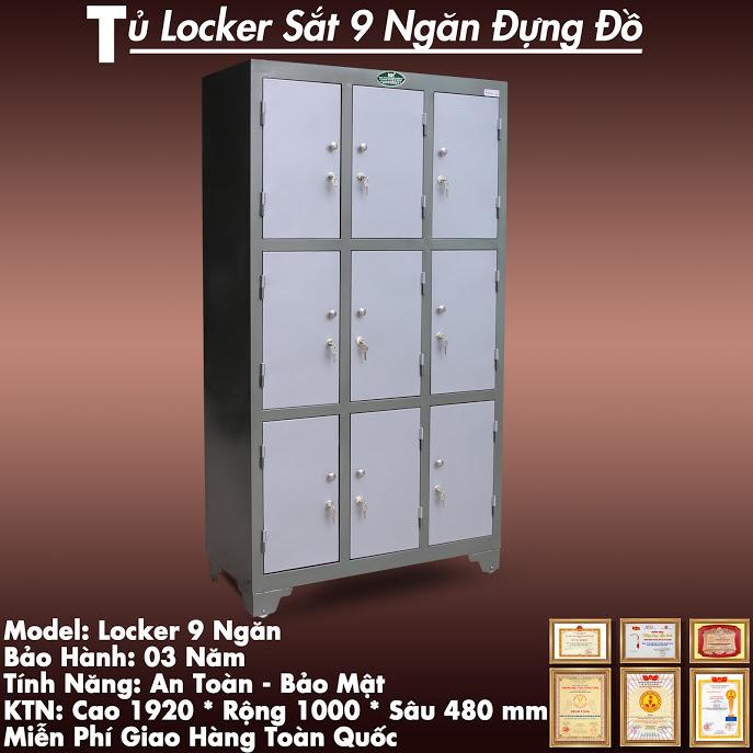 giá tủ locker