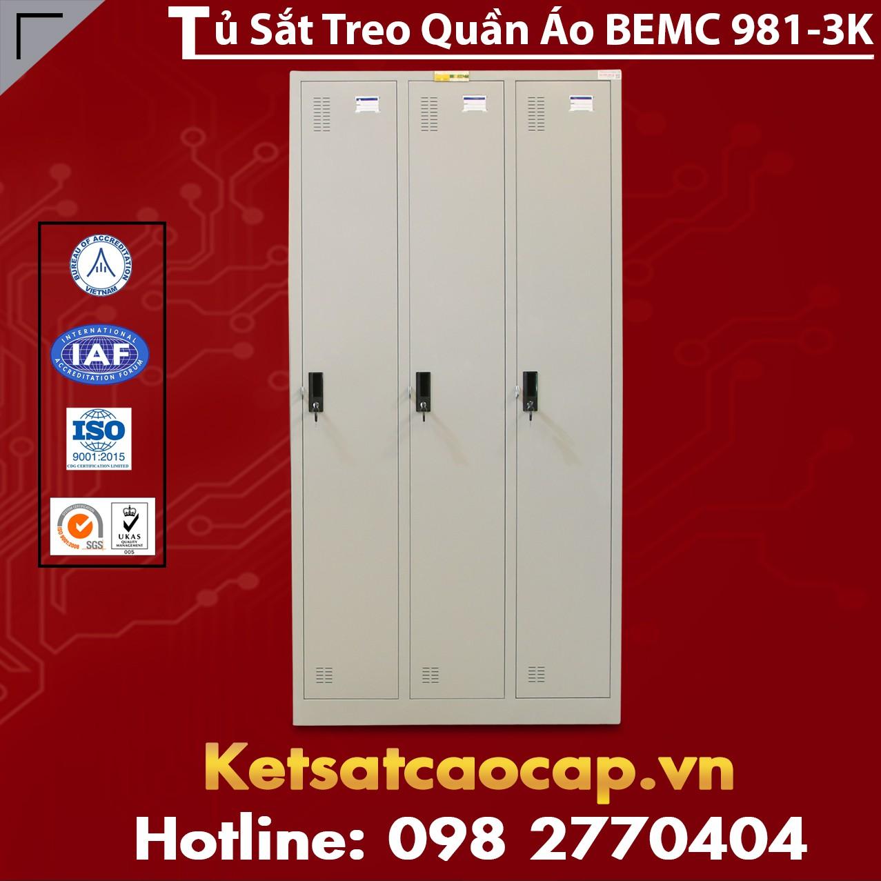 Tủ Quần Áo BEMC 981 - 3K