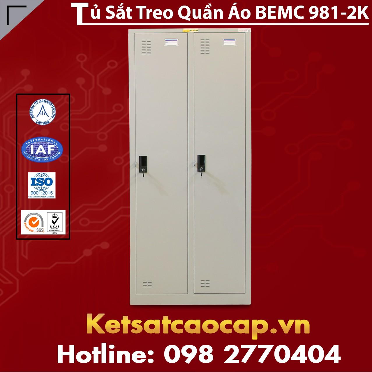 Tủ Quần Áo BEMC 981 - 2K